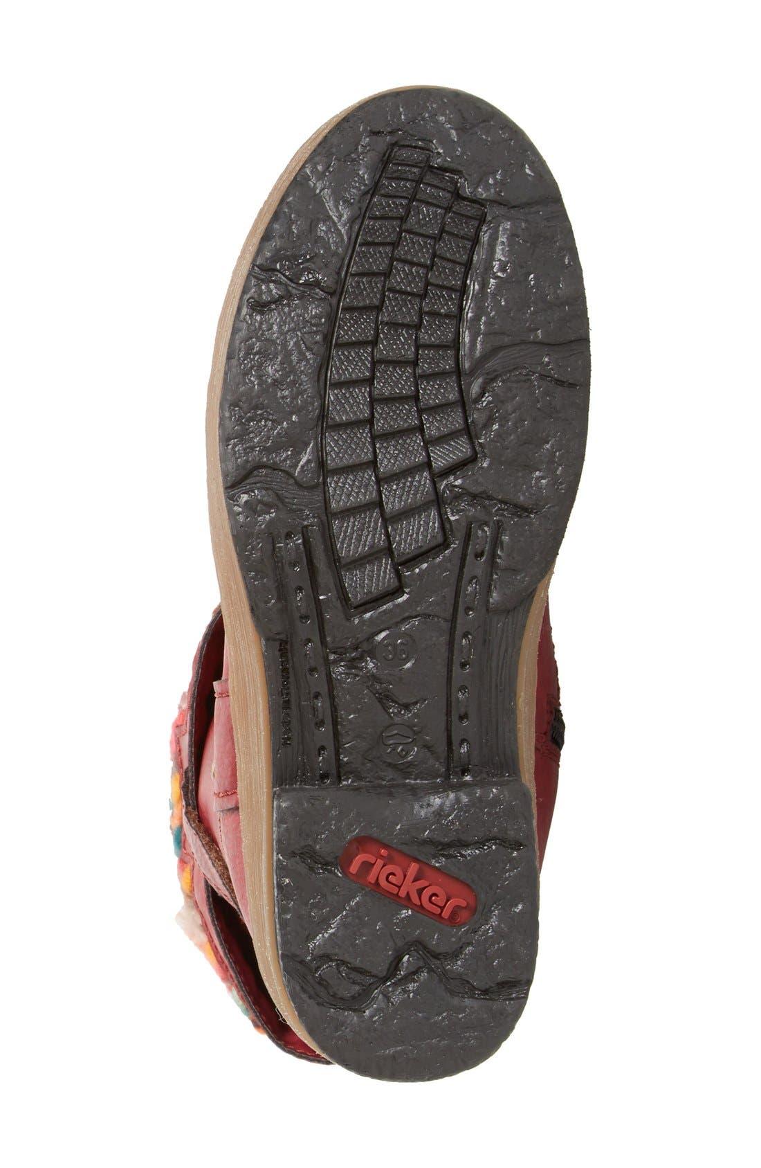 'Felicitas 98' Foldover Boot,                             Alternate thumbnail 5, color,                             930