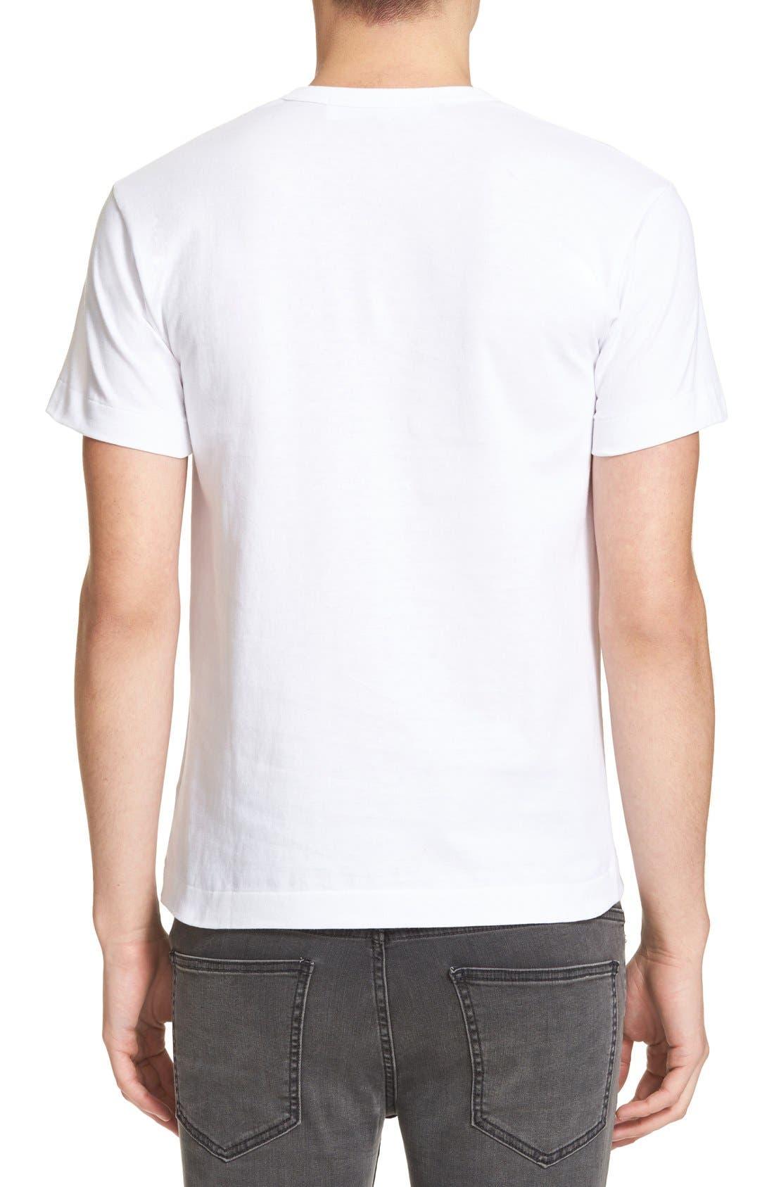 Graphic T-Shirt,                             Alternate thumbnail 3, color,                             WHITE