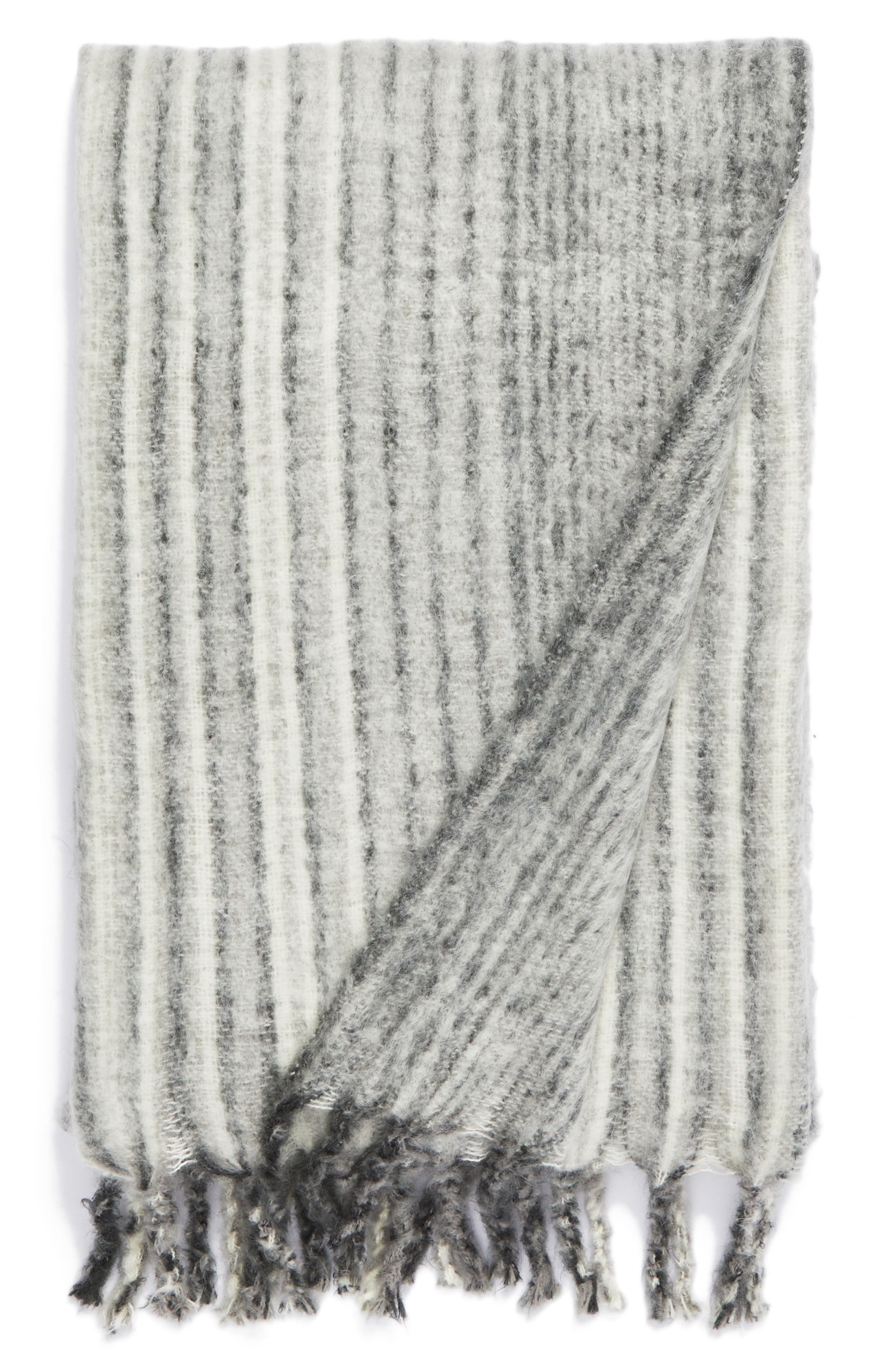 NORDSTROM AT HOME,                             Brushed Ombré Throw Blanket,                             Main thumbnail 1, color,                             020