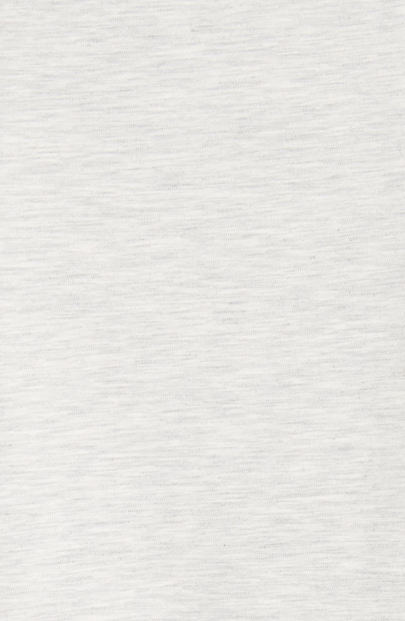 Rodier Jersey Sweatshirt Dress,                             Alternate thumbnail 5, color,                             050