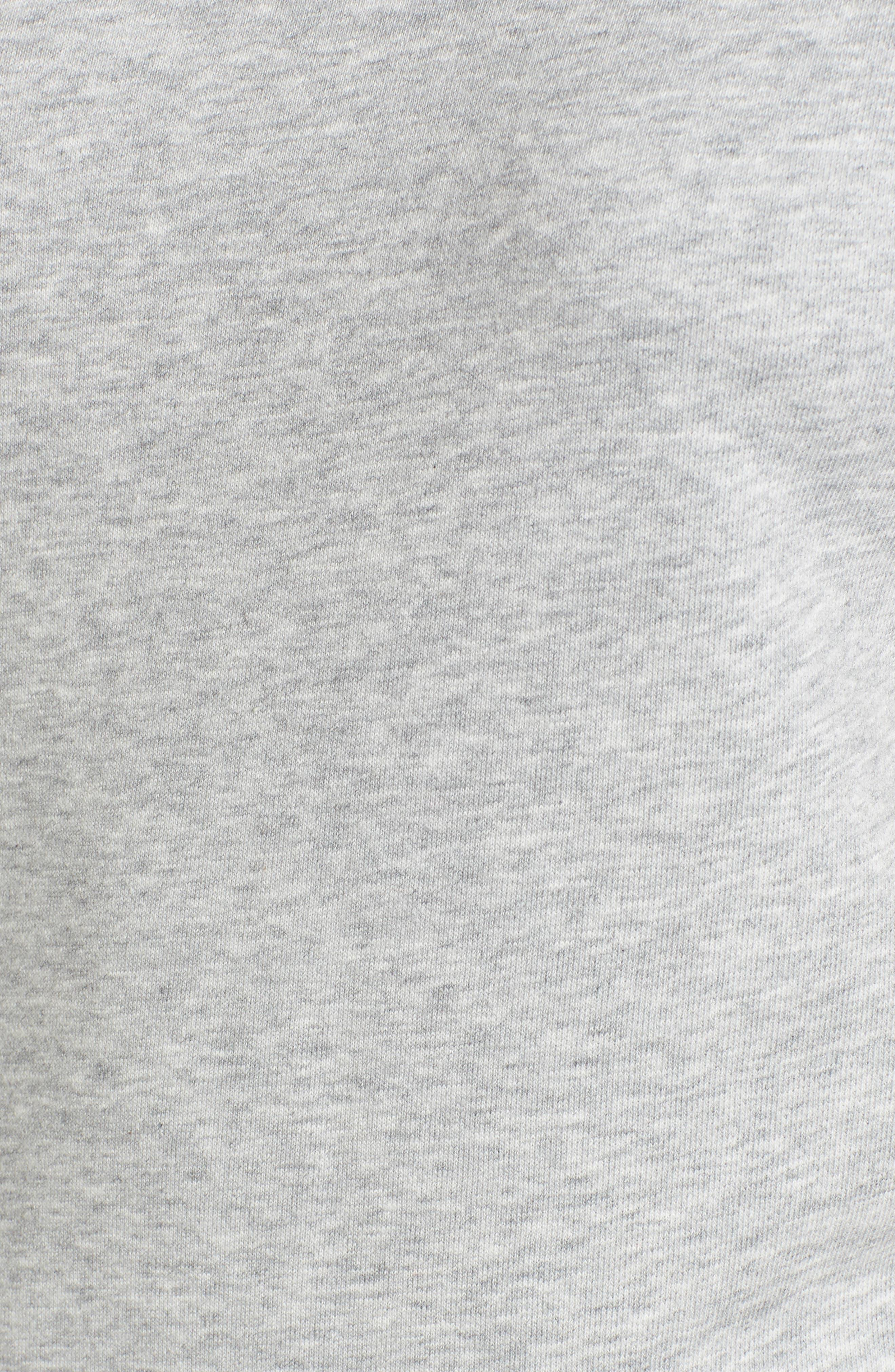 Bow Sleeve Sweatshirt,                             Alternate thumbnail 5, color,                             030