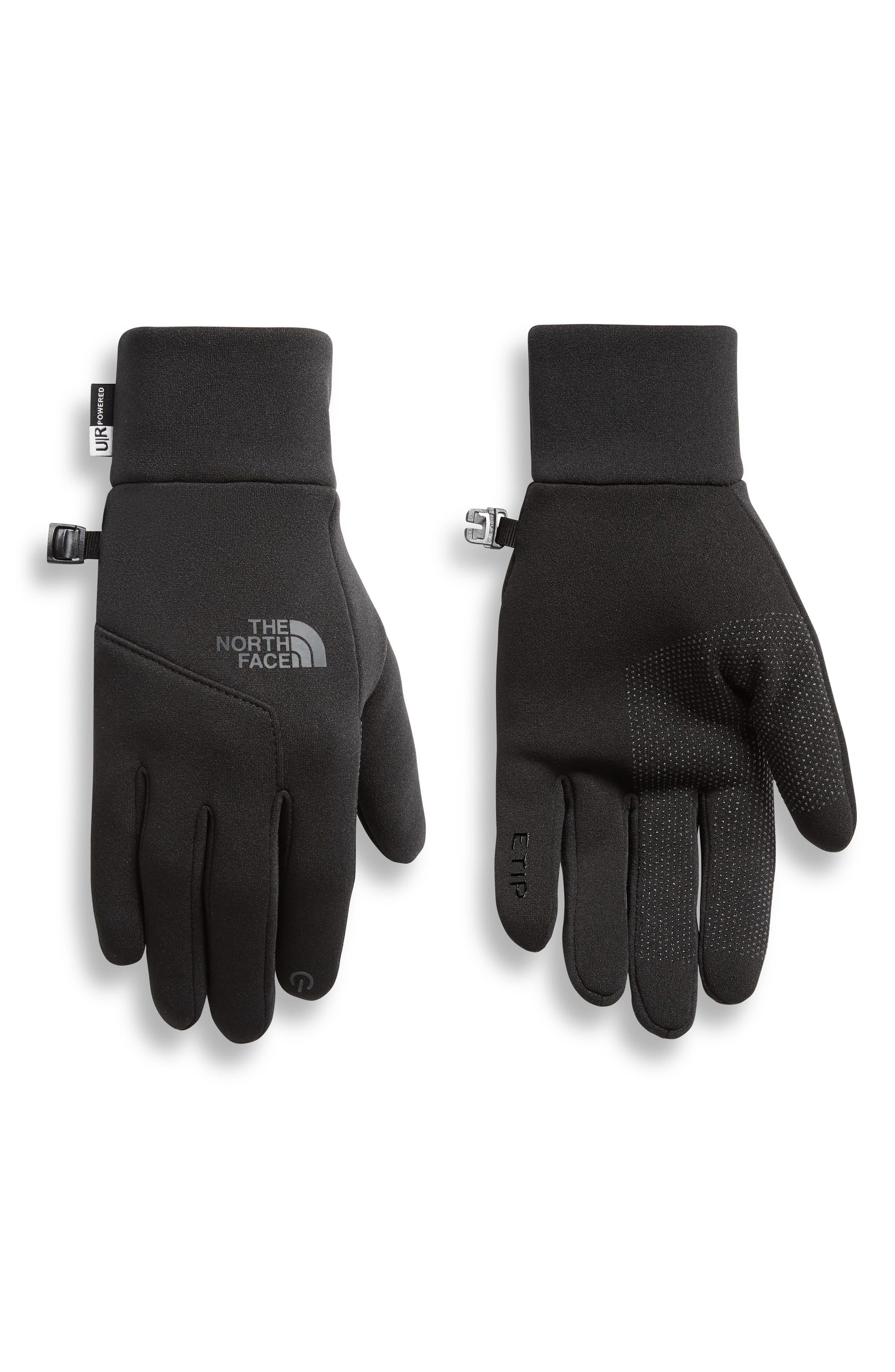 Etip Gloves,                             Main thumbnail 1, color,                             BLACK
