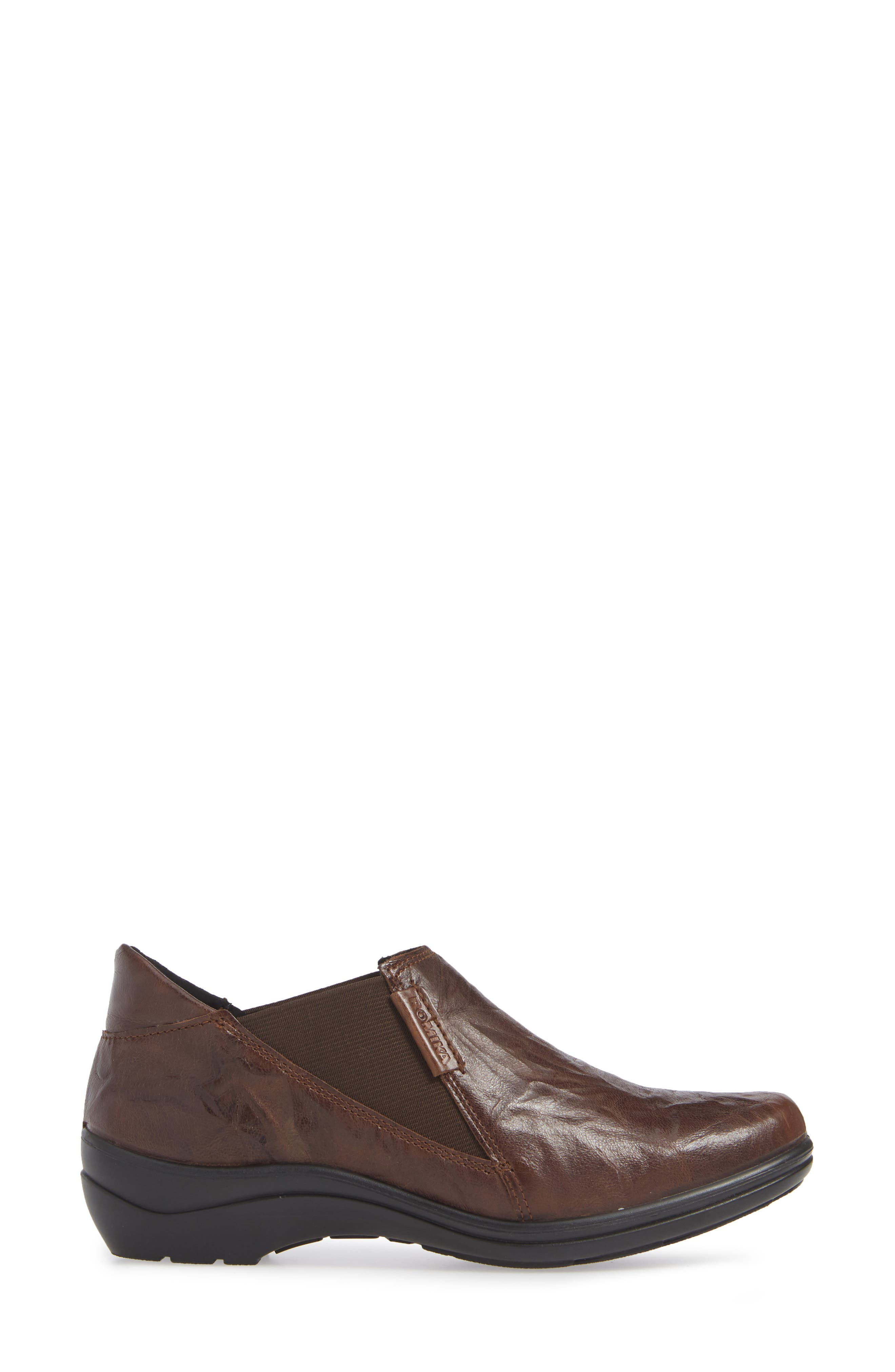 Cassie 44 Ankle Bootie,                             Alternate thumbnail 3, color,                             MORO BO BROWN