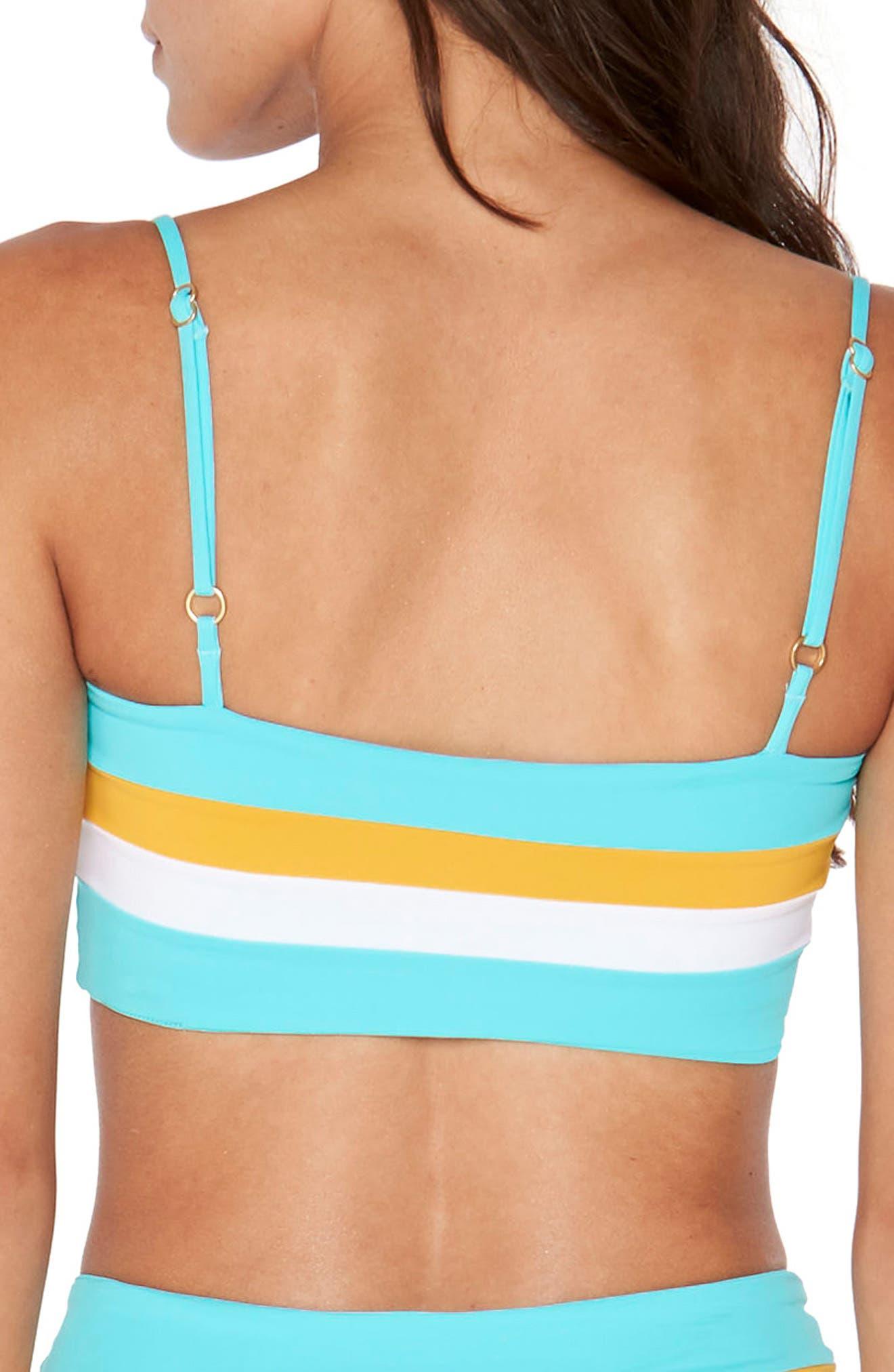 Rebel Bikini Top,                             Alternate thumbnail 4, color,