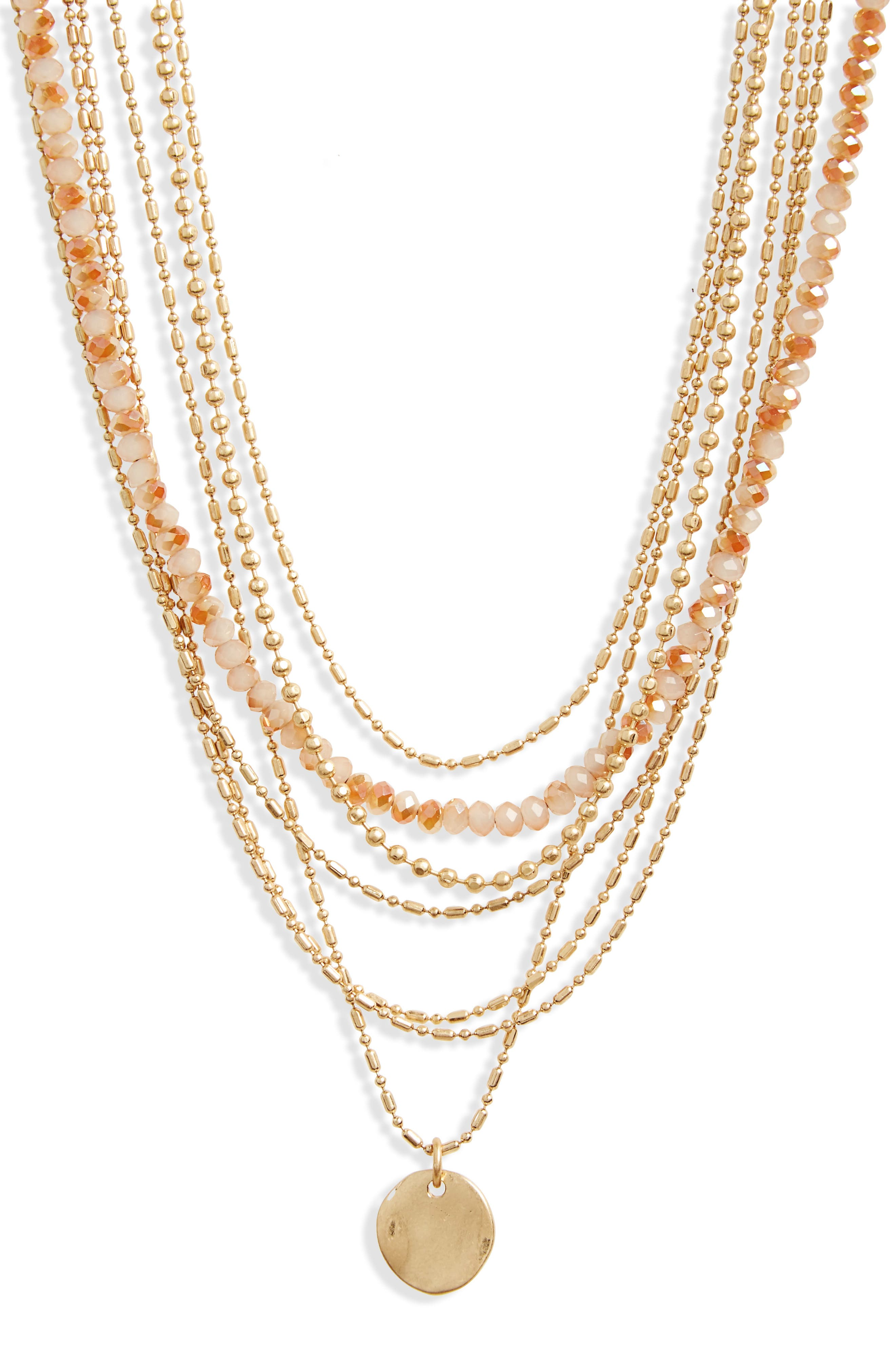 Seven-Layer Bead Necklace,                             Main thumbnail 3, color,