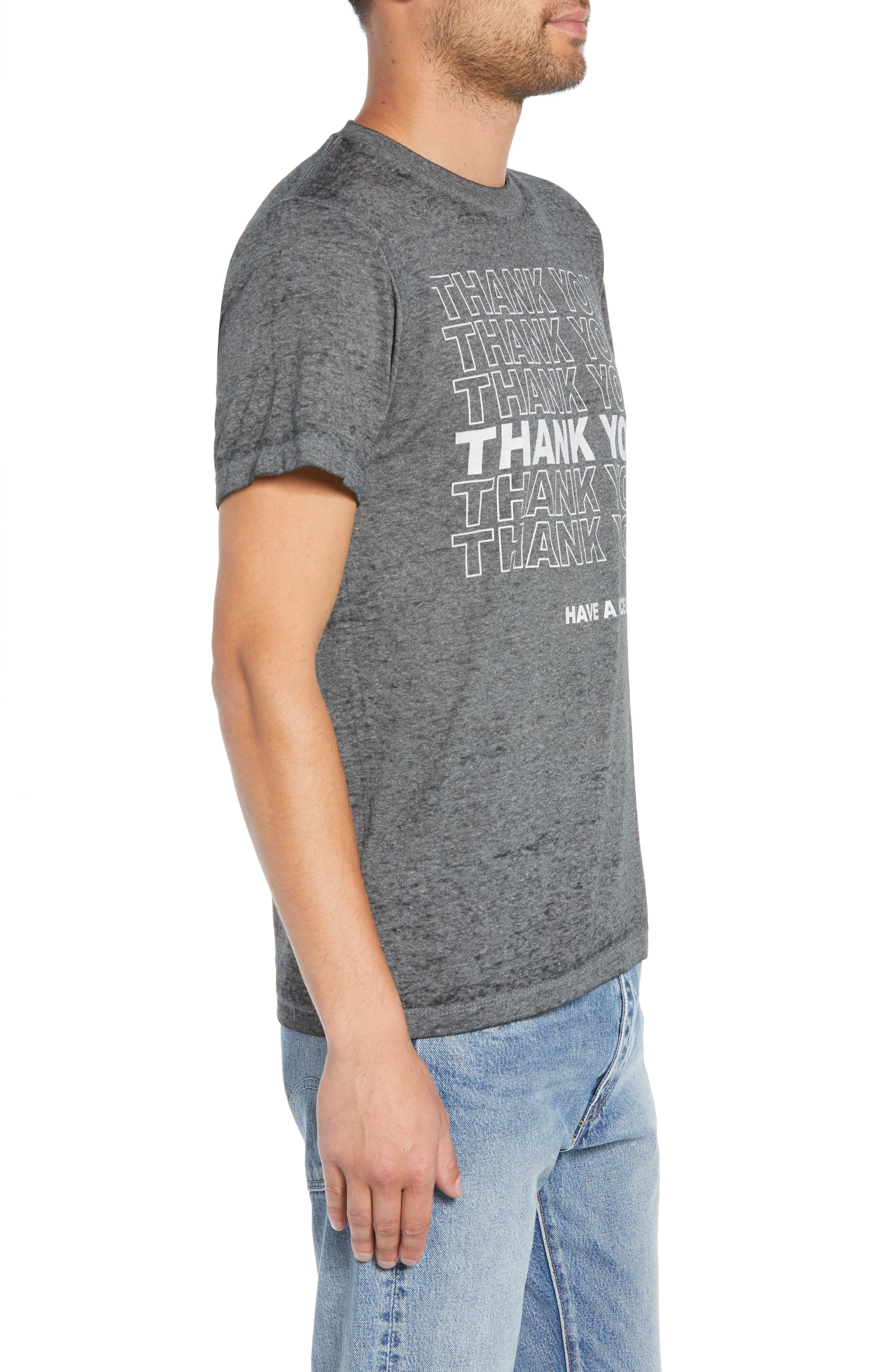 Thank You Graphic T-Shirt,                             Alternate thumbnail 3, color,                             030