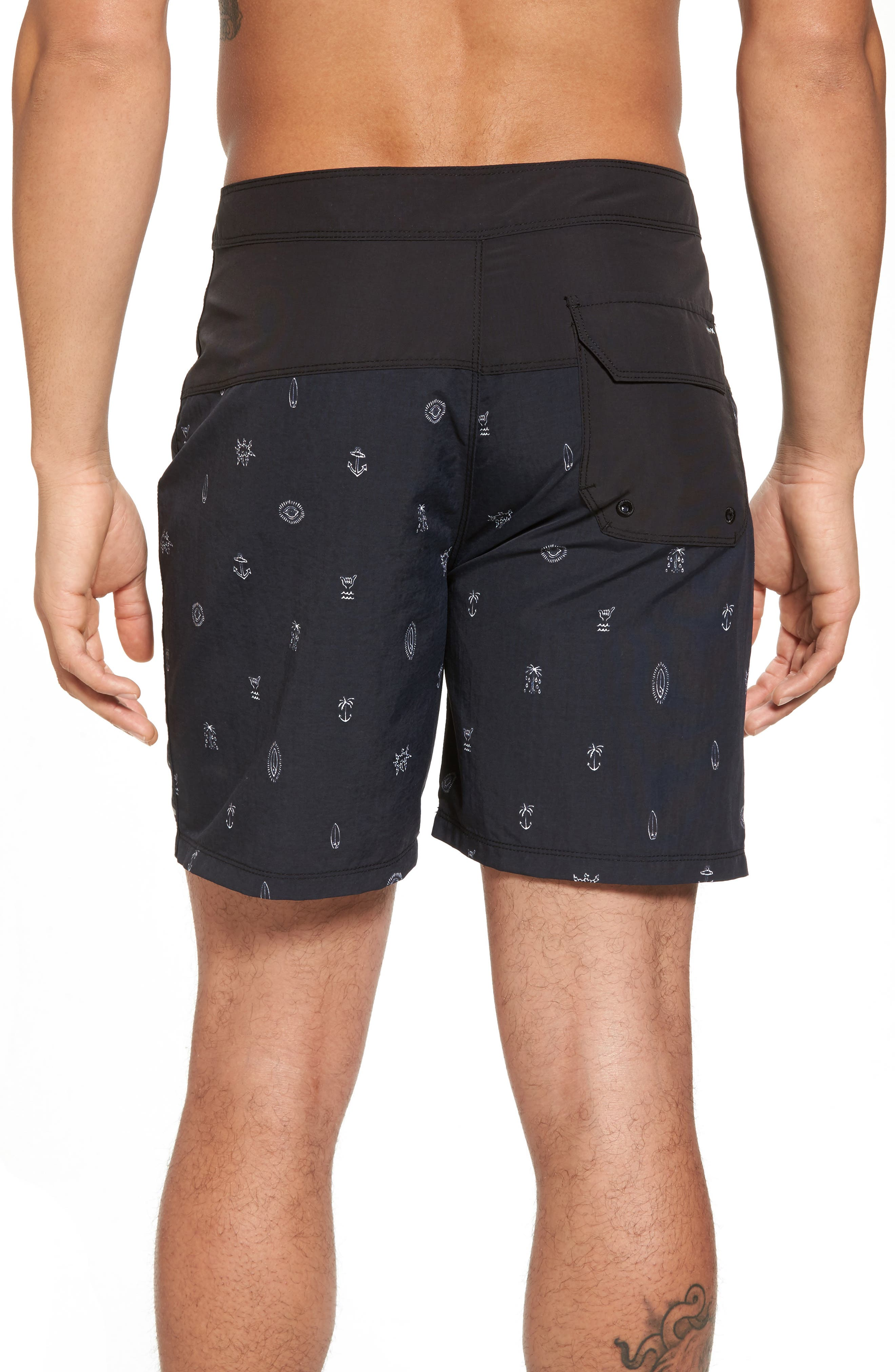 School Yards Board Shorts,                             Alternate thumbnail 2, color,                             010