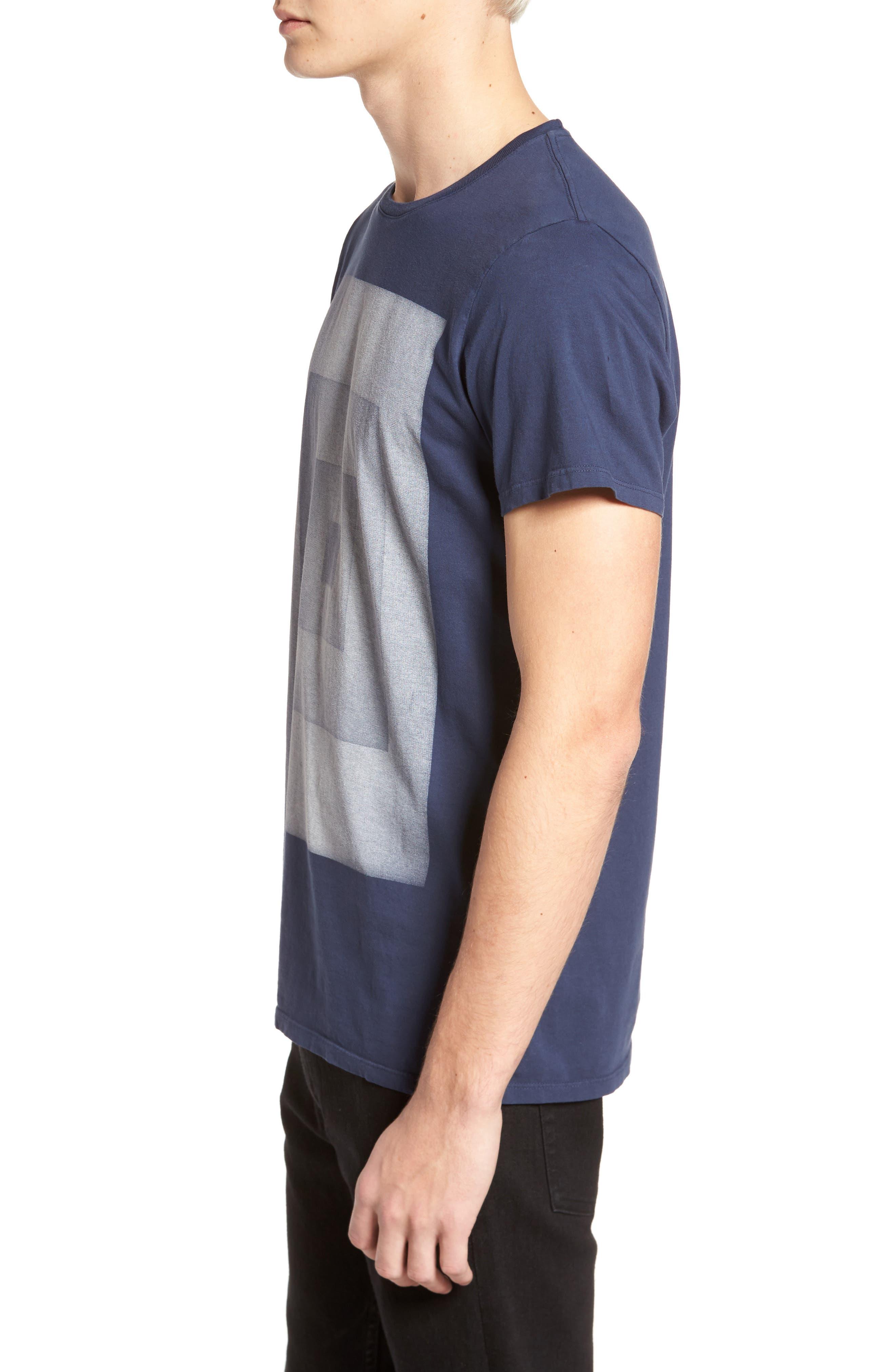 Infinity Box T-Shirt,                             Alternate thumbnail 3, color,                             400