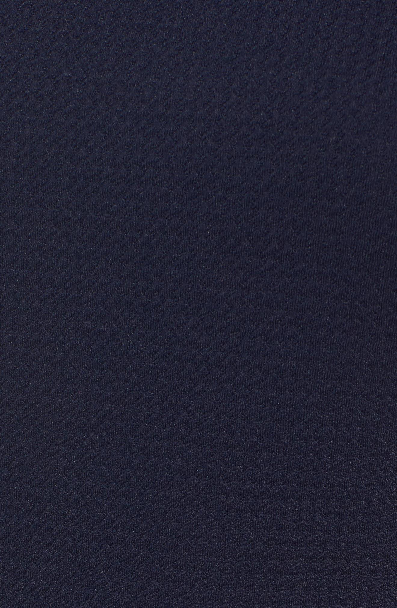 Ruffle Hem Knit Dress,                             Alternate thumbnail 5, color,                             415