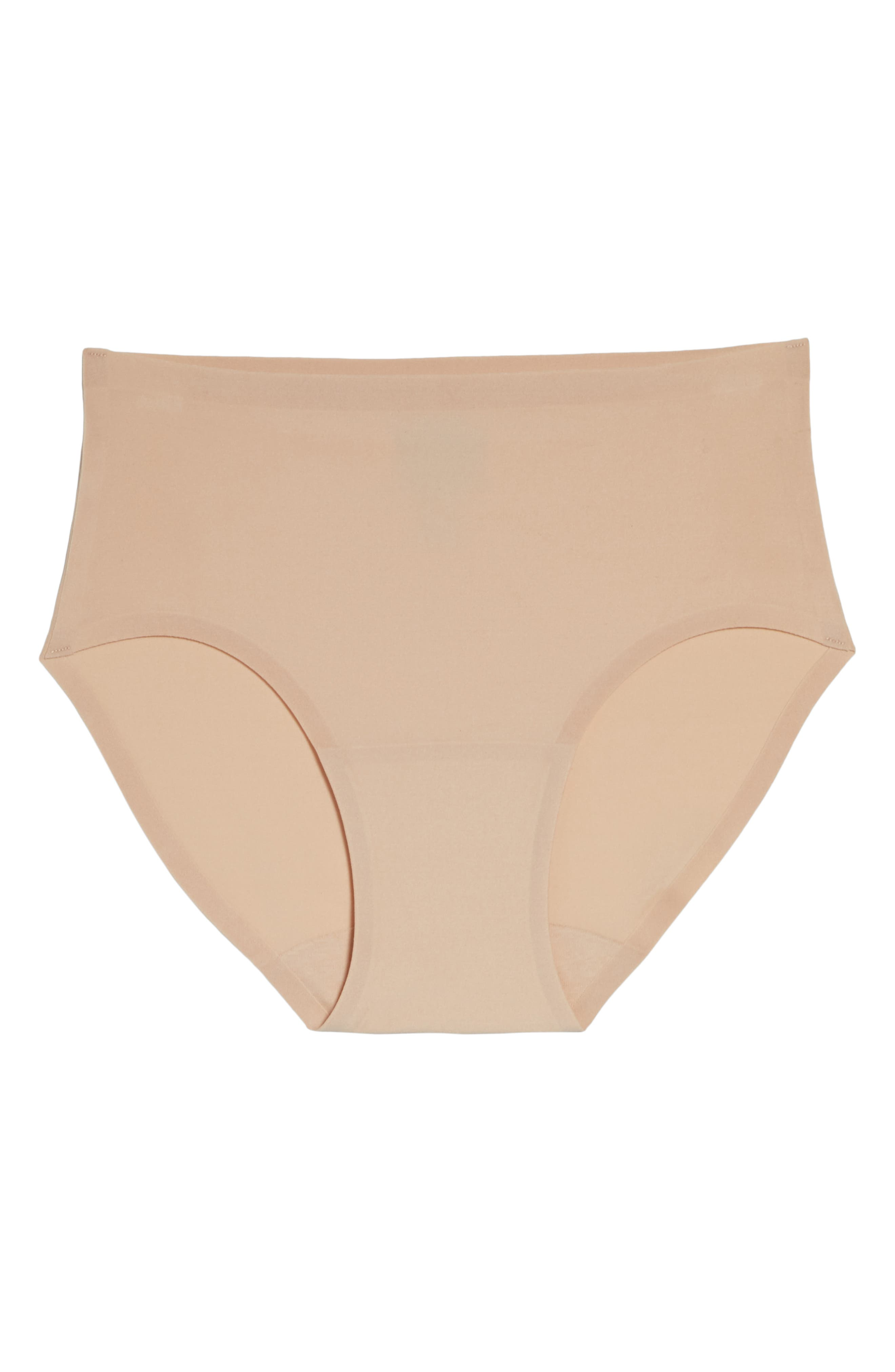 Soft Stretch Seamless Hipster Panties,                             Alternate thumbnail 6, color,                             NUDE BLUSH