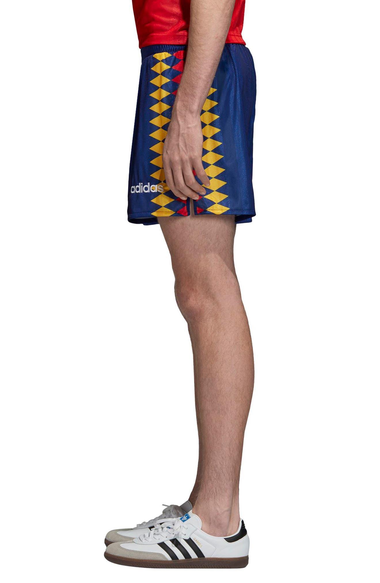 ADIDAS ORIGINALS,                             adidas Original Spain 1994 Shorts,                             Alternate thumbnail 3, color,                             414