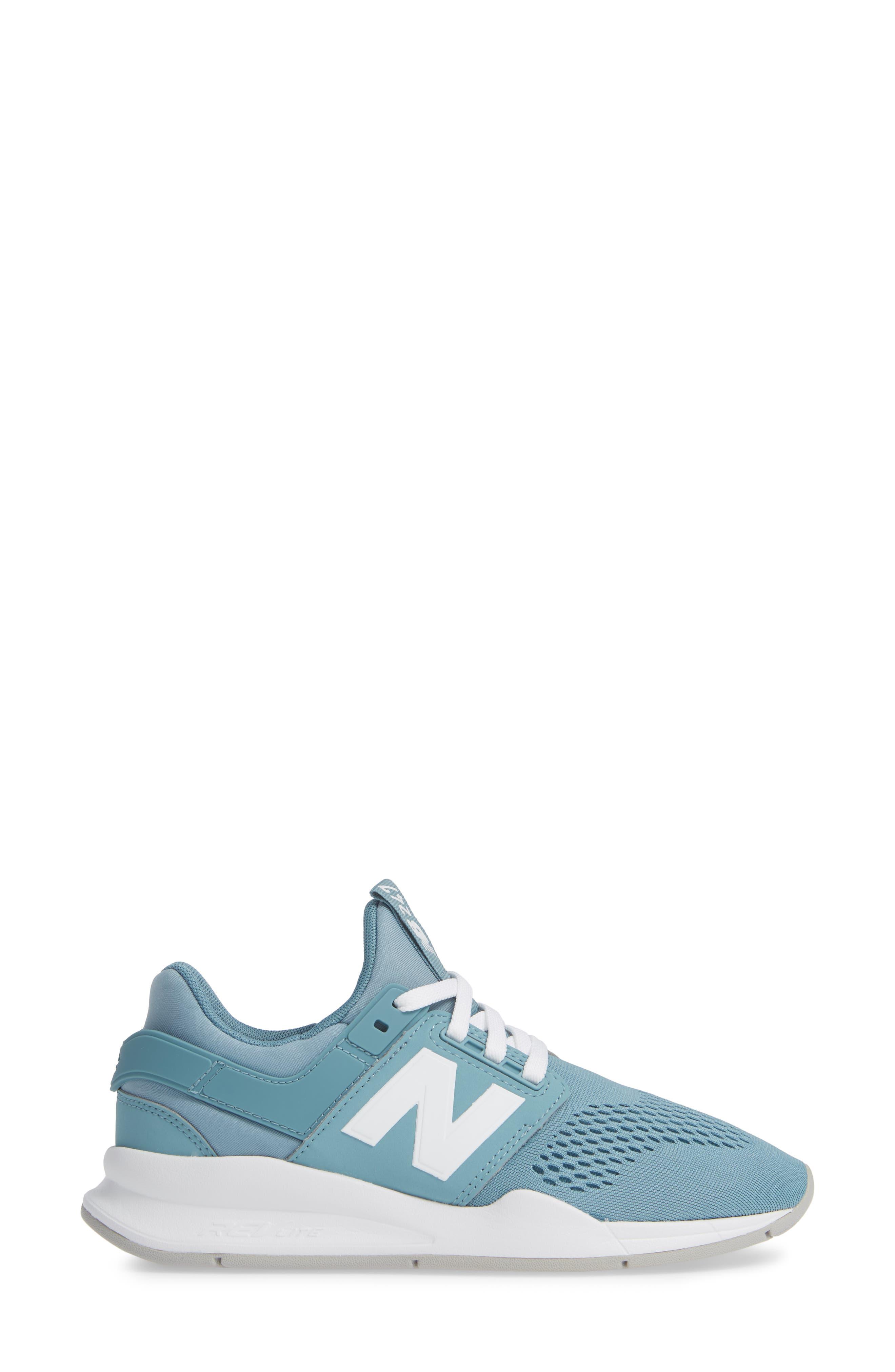 247 Sneaker,                             Alternate thumbnail 3, color,                             SMOKE BLUE