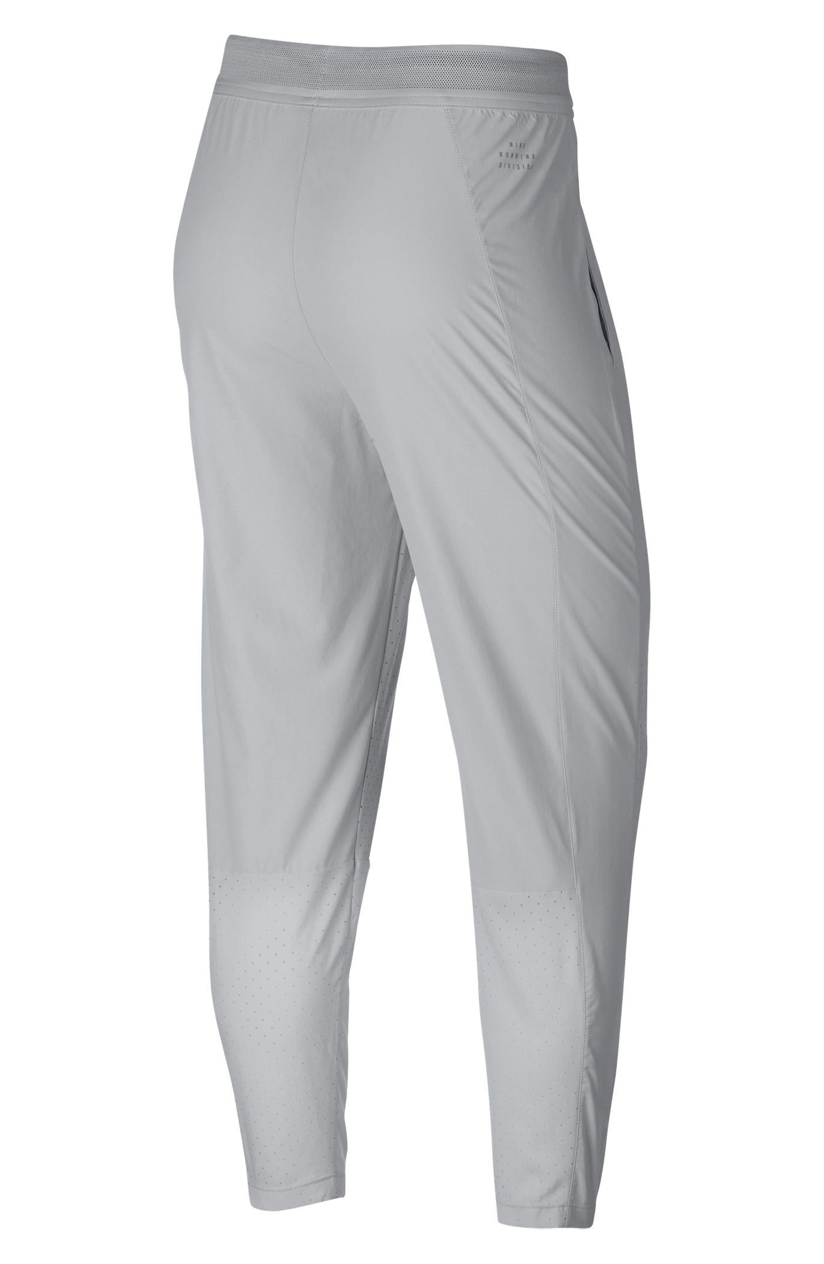 Perforated Running Pants,                             Alternate thumbnail 8, color,                             VAST GREY/ VAST GREY