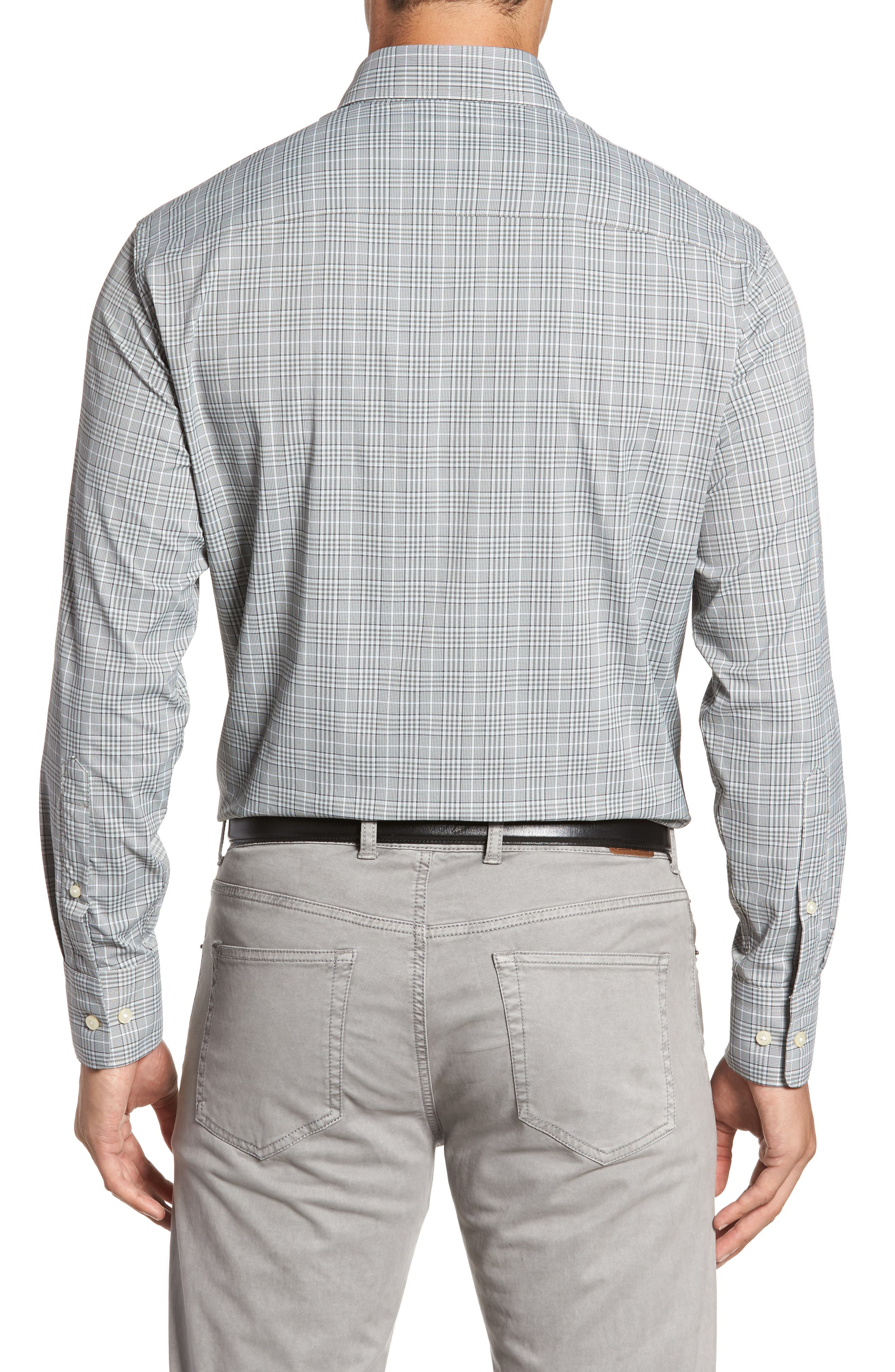 Vedder Gingham Regular Fit Performance Sport Shirt,                             Alternate thumbnail 2, color,                             025