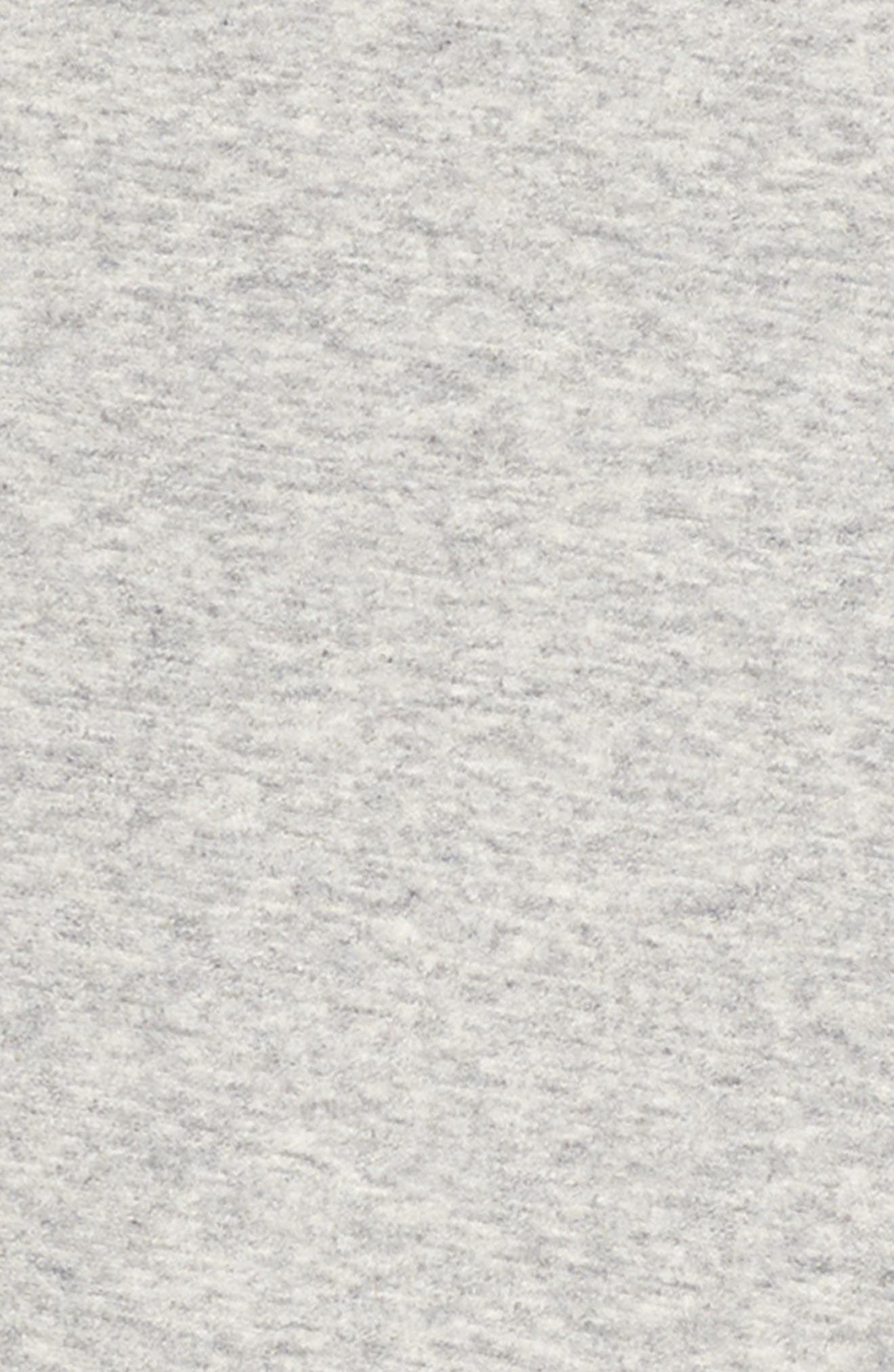 Zipper Sweatshirt Dress,                             Alternate thumbnail 6, color,