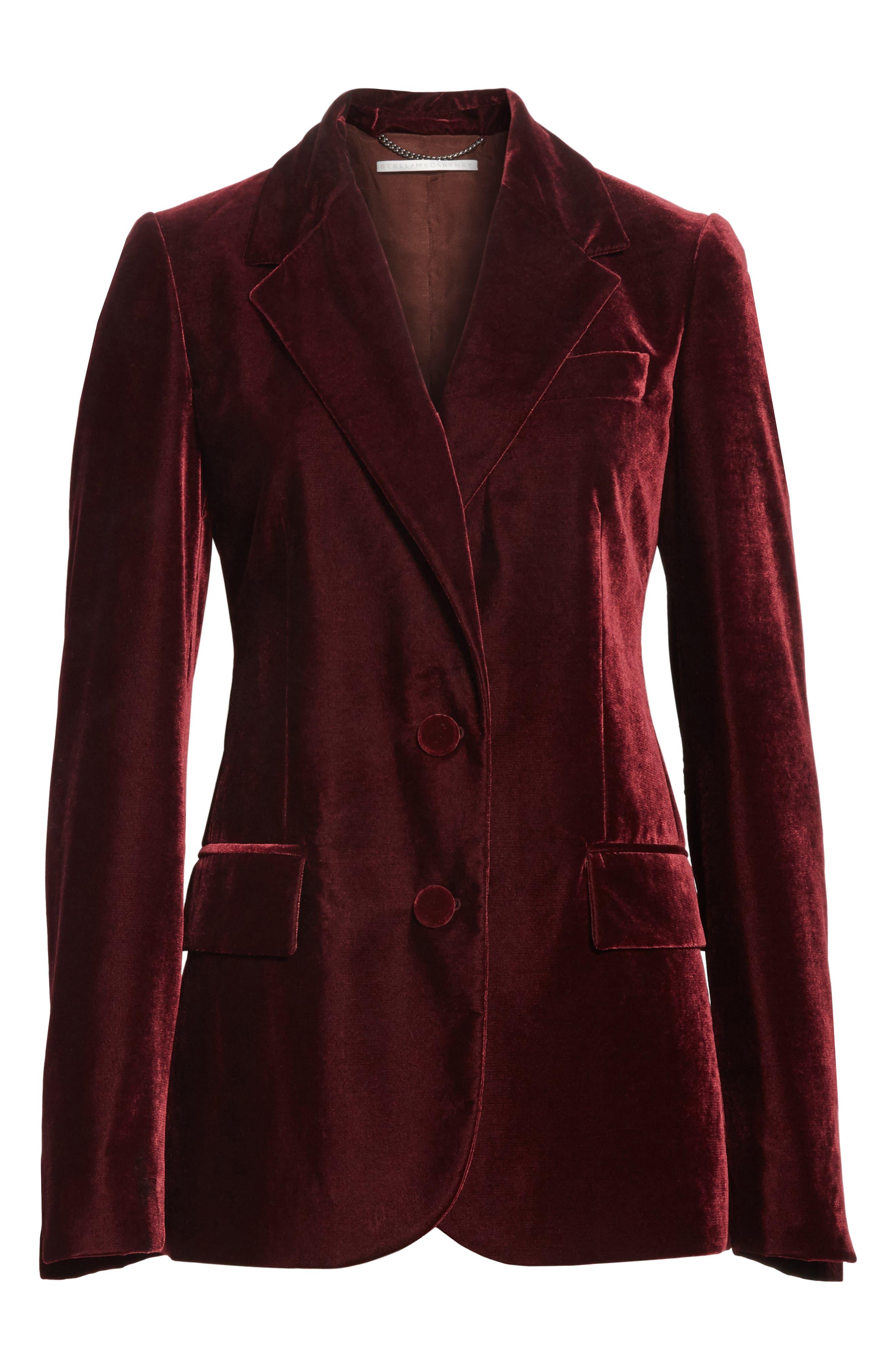 Bonded Velvet Jacket,                             Alternate thumbnail 5, color,                             930