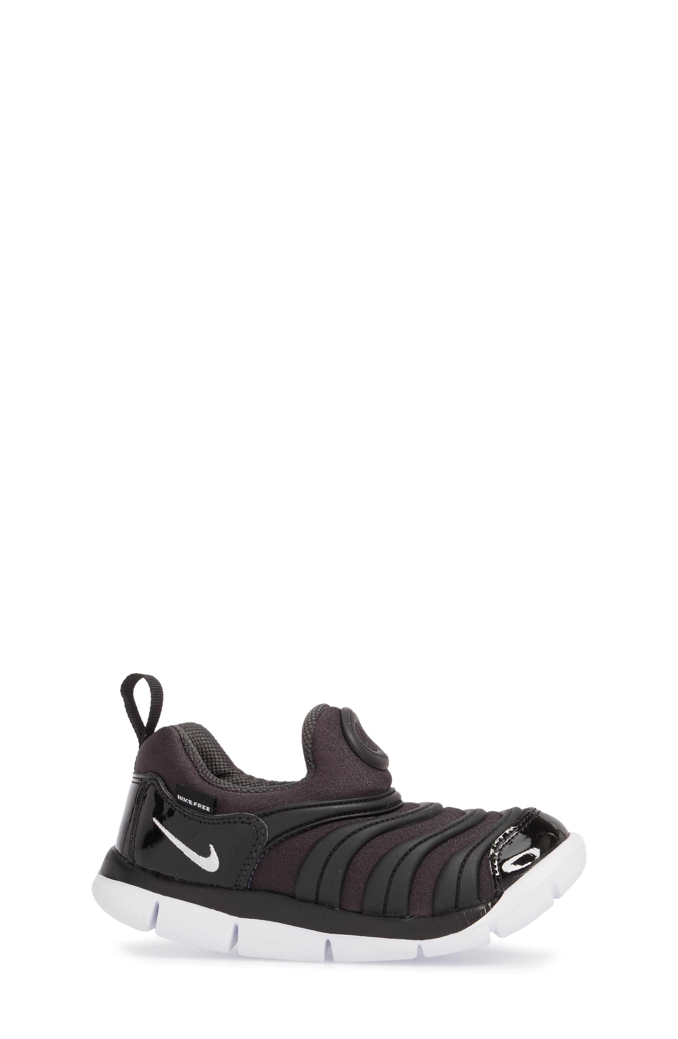Dynamo Free Sneaker,                             Alternate thumbnail 3, color,                             ANTHRACITE/ WHITE/ BLACK