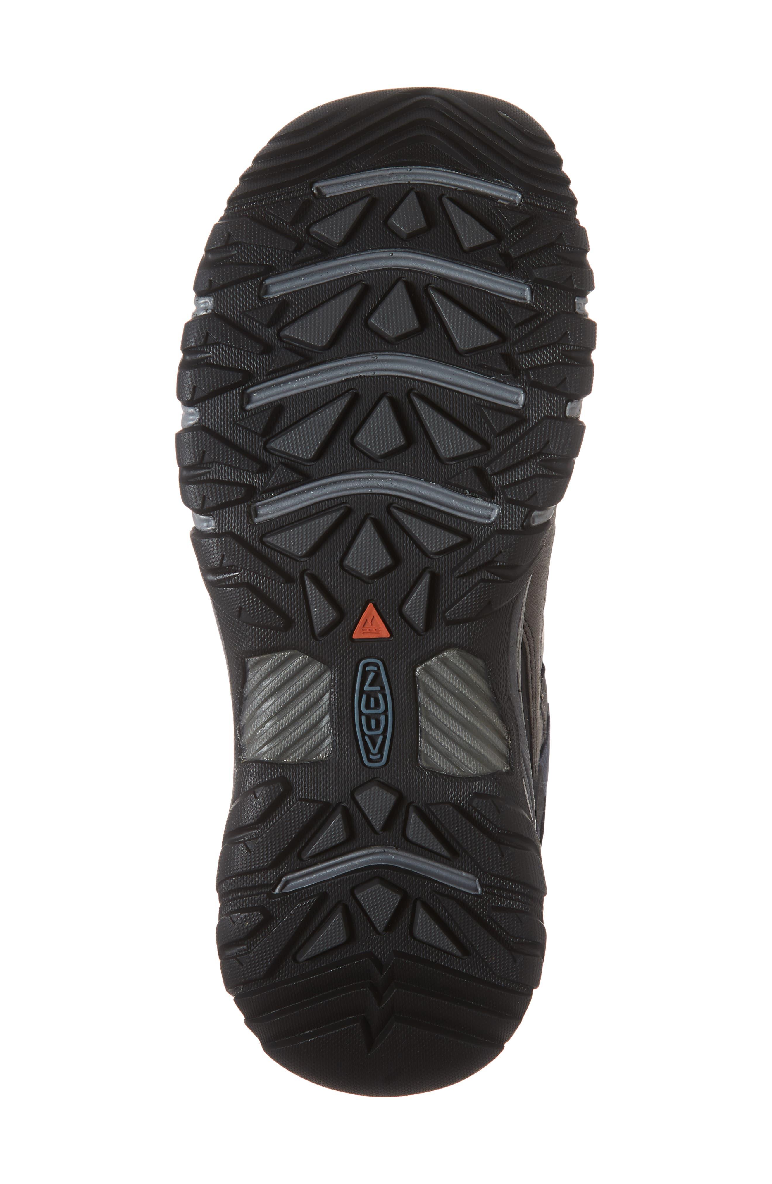 Targhee III Waterproof Hiking Shoe,                             Alternate thumbnail 6, color,                             STEEL GREY/ CAPTAINS BLUE