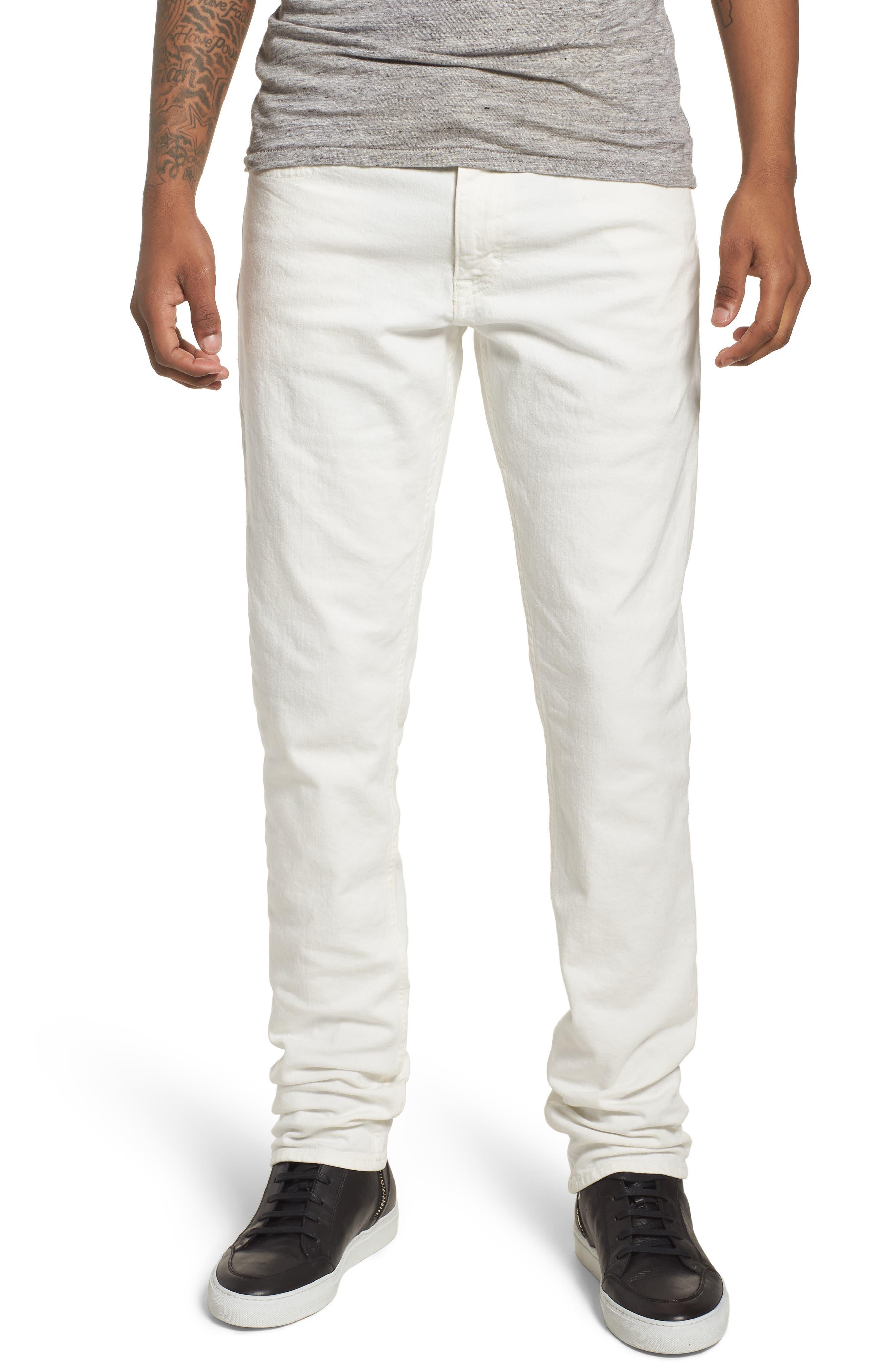 Slim Fit Jeans,                         Main,                         color, GLASS