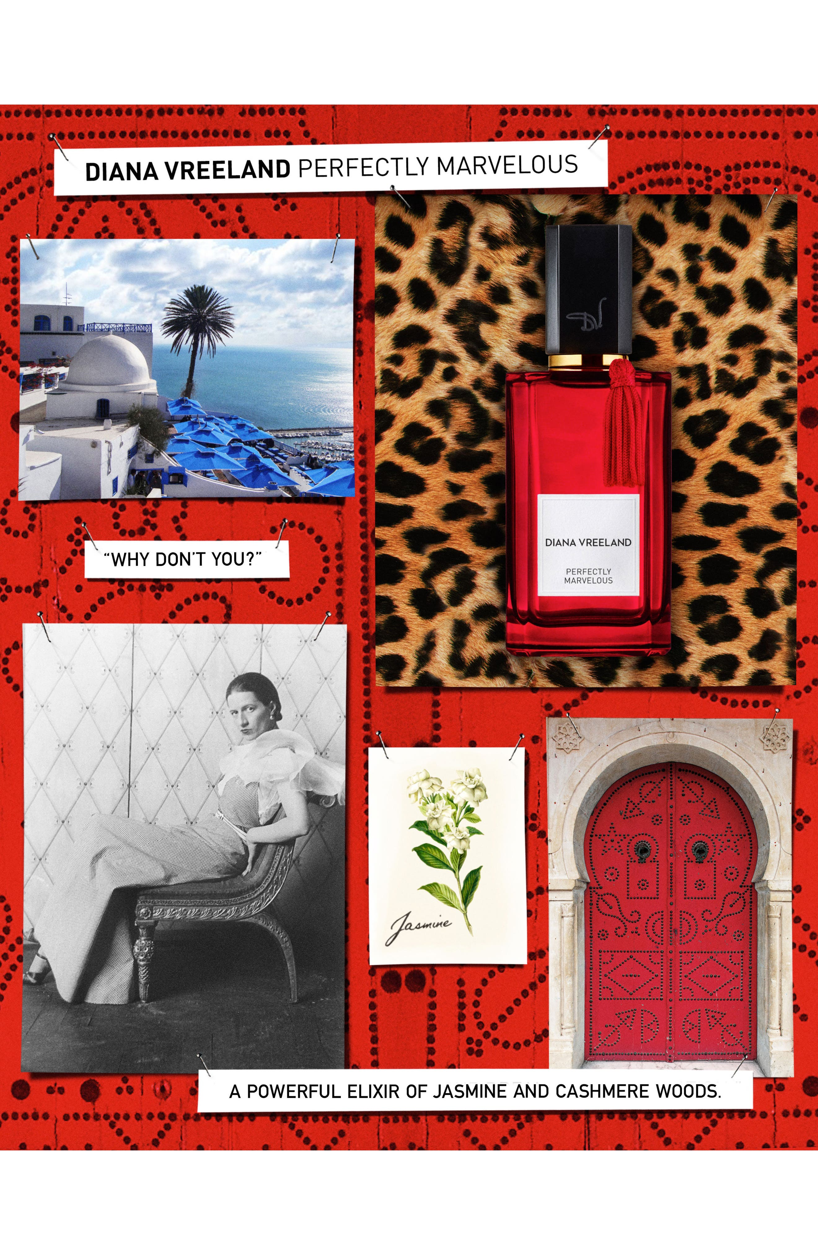 DIANA VREELAND,                             'Perfectly Marvelous' Fragrance,                             Alternate thumbnail 3, color,                             000