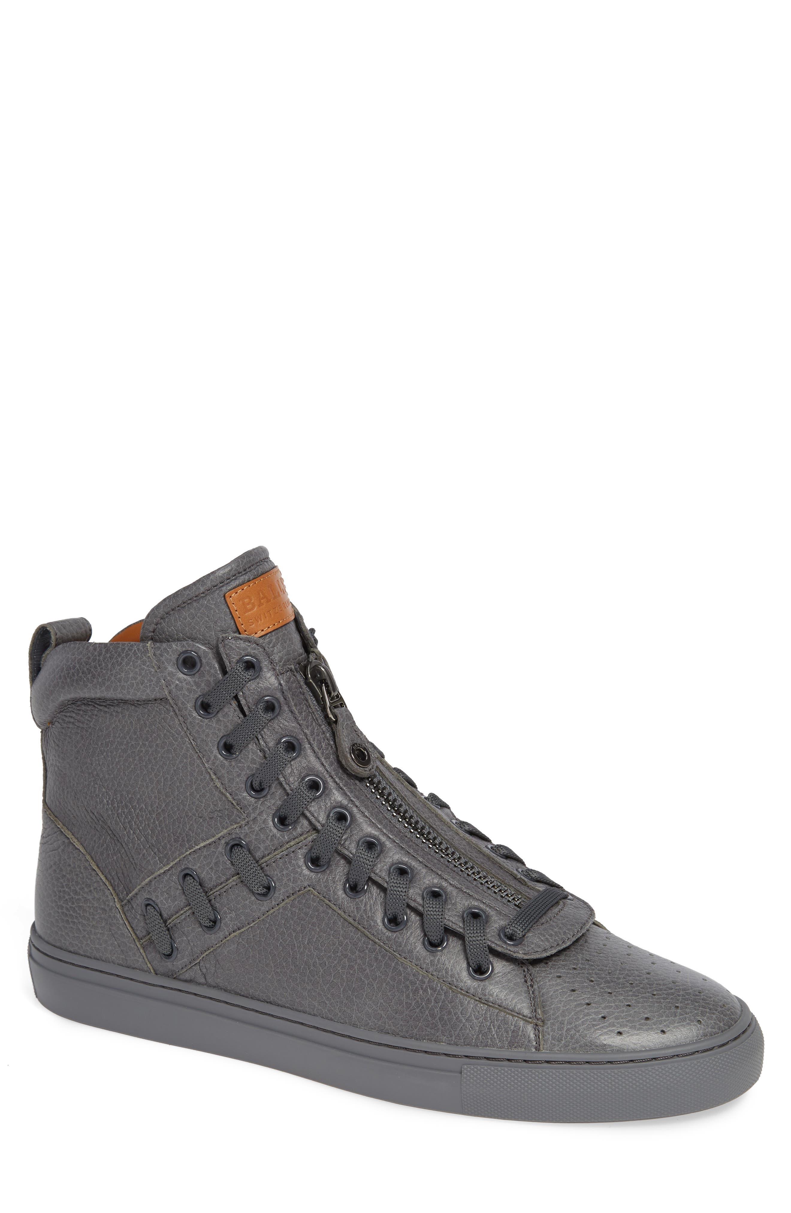Hekem High-Top Sneaker,                         Main,                         color, GARCONE GREY