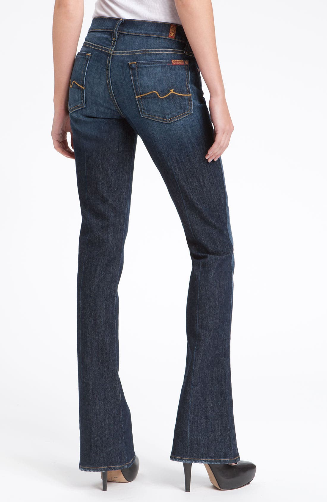 7 For All Mankind 'Kaylie' Bootcut Jeans,                             Alternate thumbnail 3, color,                             400