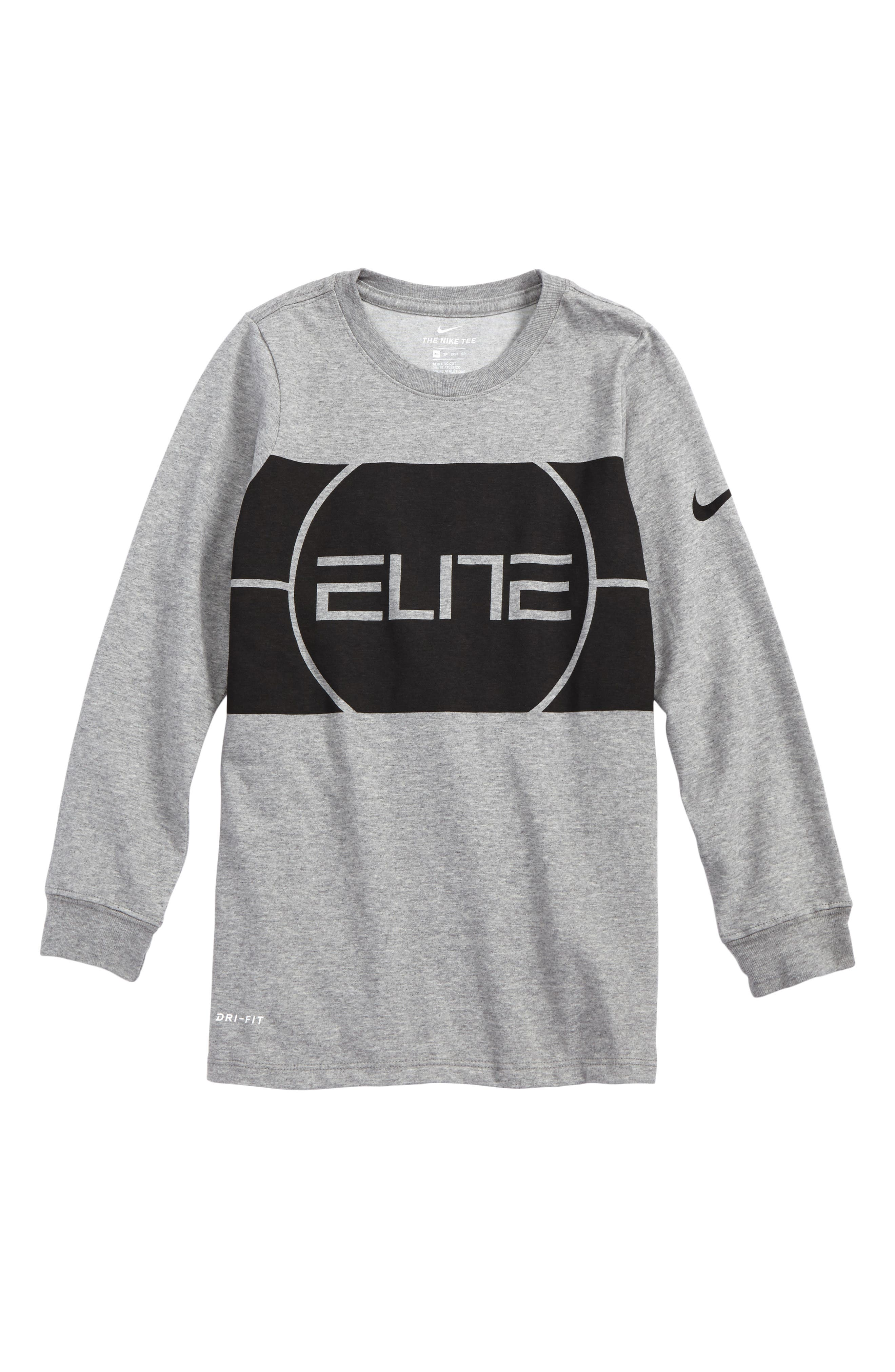 Dry Elite Logo T-Shirt,                             Main thumbnail 1, color,