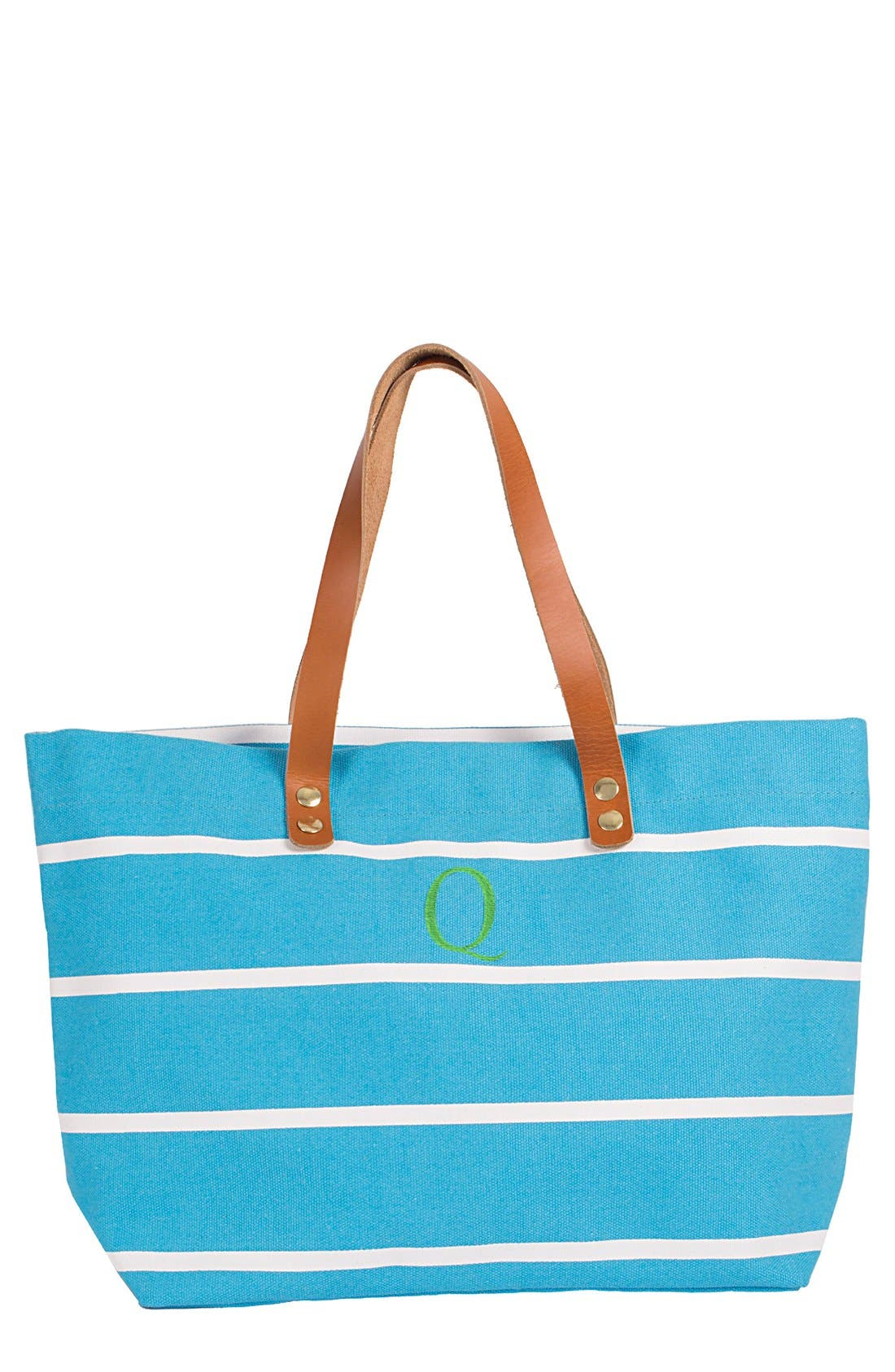 Monogram Stripe Tote,                             Main thumbnail 99, color,