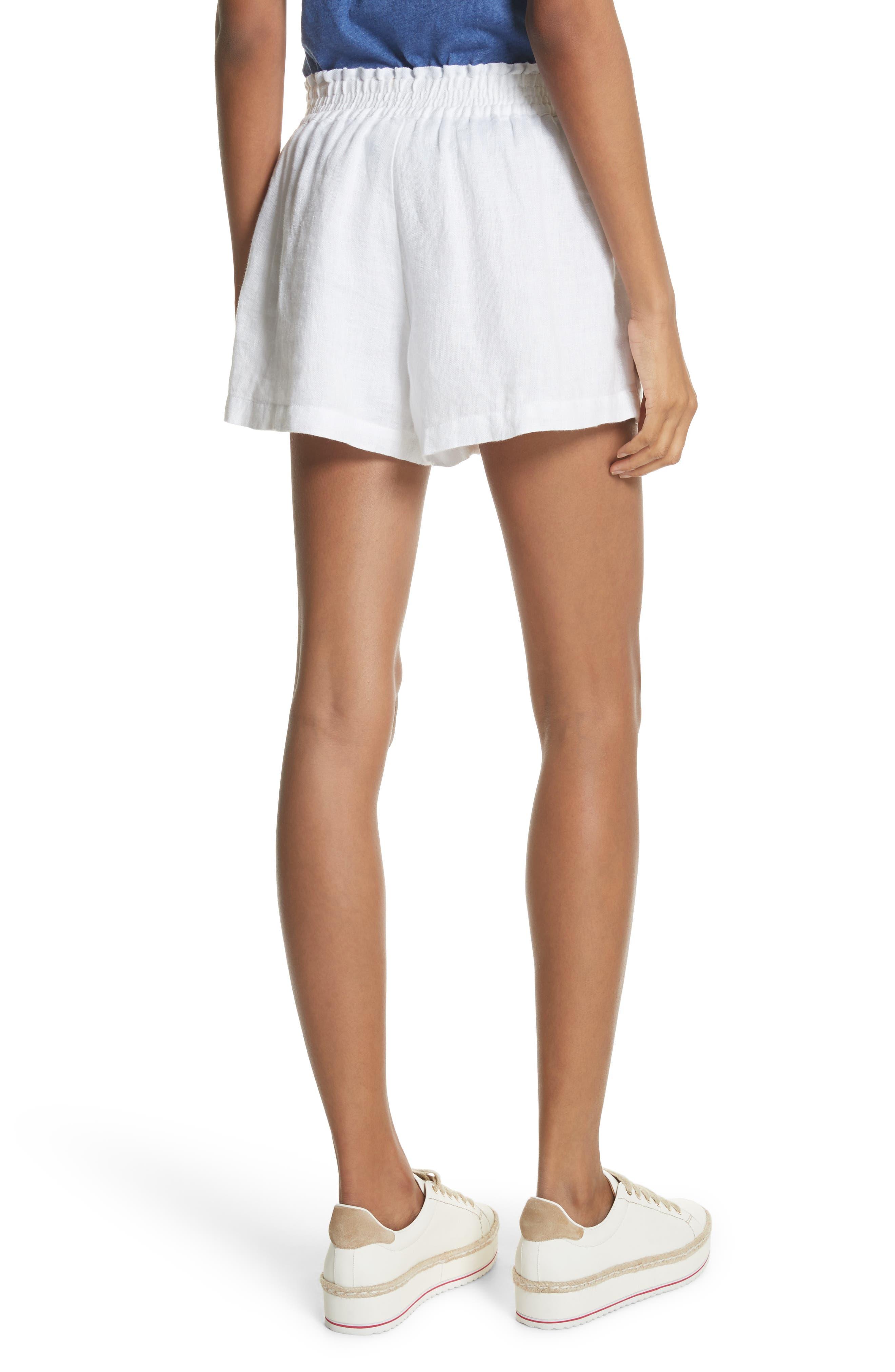 Fenna Linen Shorts,                             Alternate thumbnail 2, color,