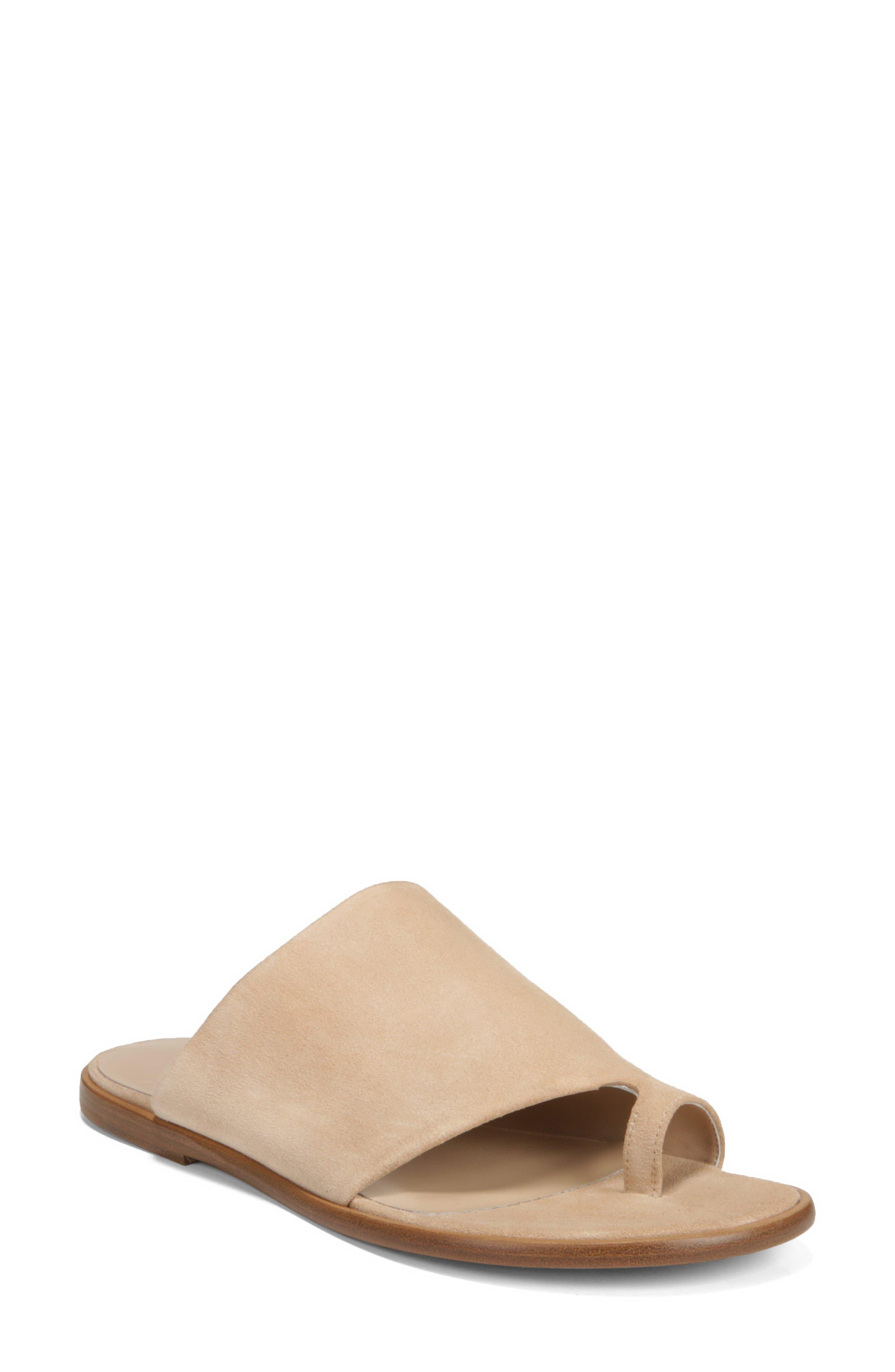 Edris Toe Loop Sandal,                         Main,                         color, SAND