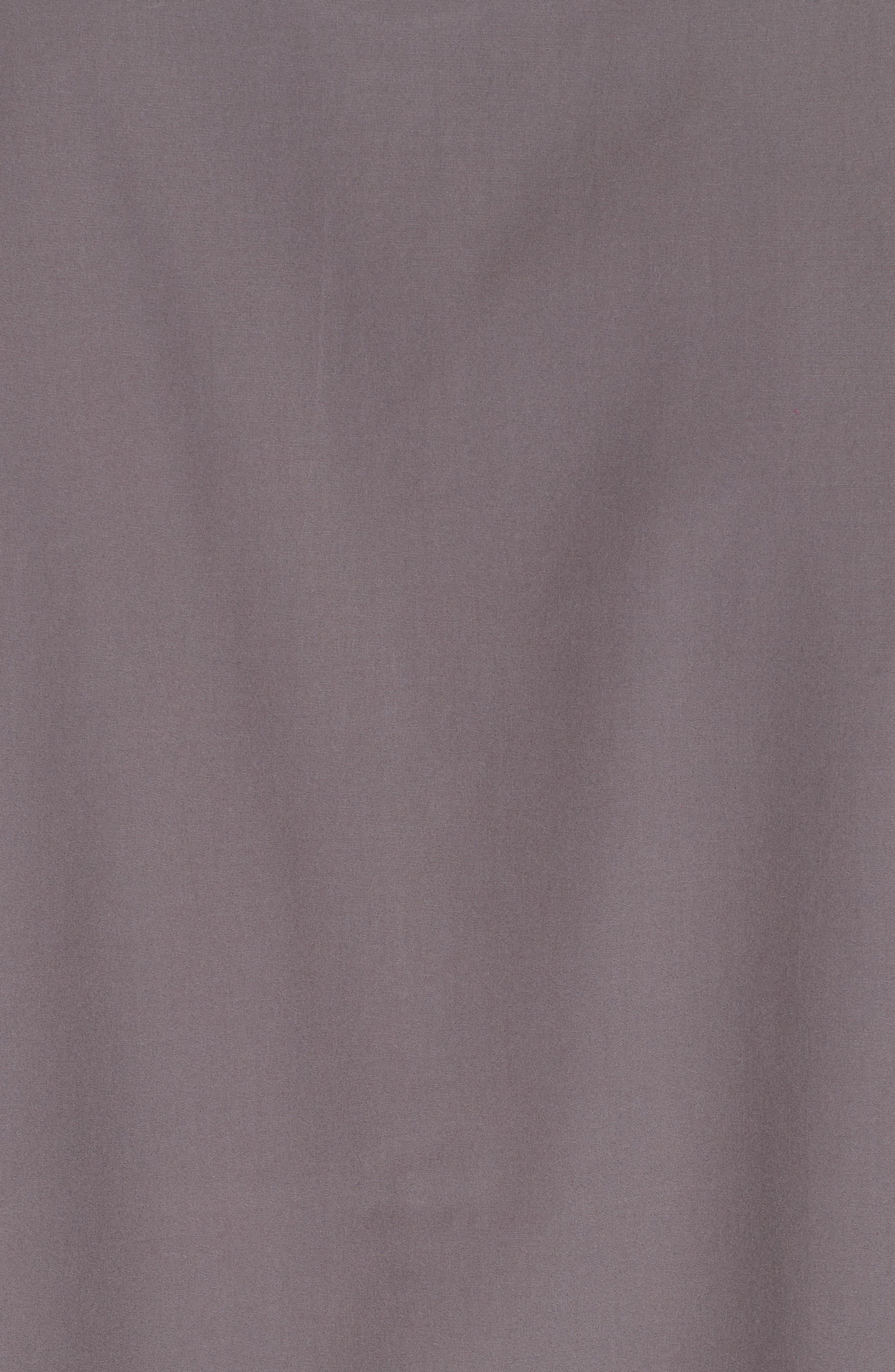 William Woven Sport Shirt,                             Alternate thumbnail 5, color,                             STONE GREY