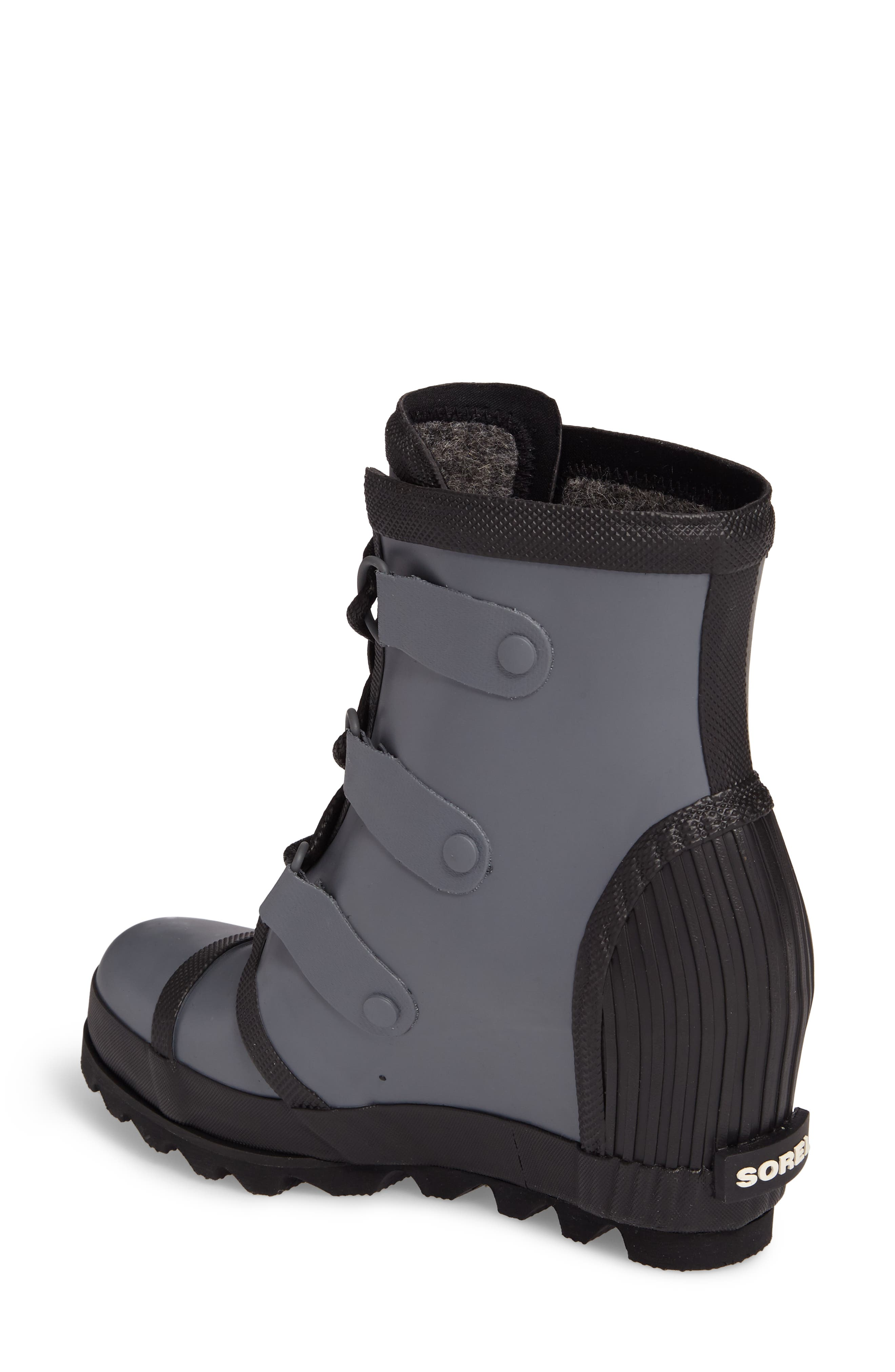 Joan Wedge Rain Boot,                             Alternate thumbnail 3, color,