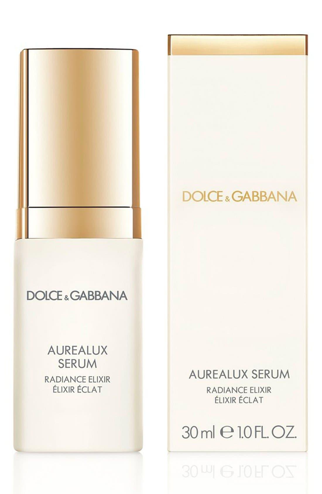 Dolce&GabbanaBeauty 'Aurealux' Serum Radiance Elixir,                             Alternate thumbnail 2, color,                             000