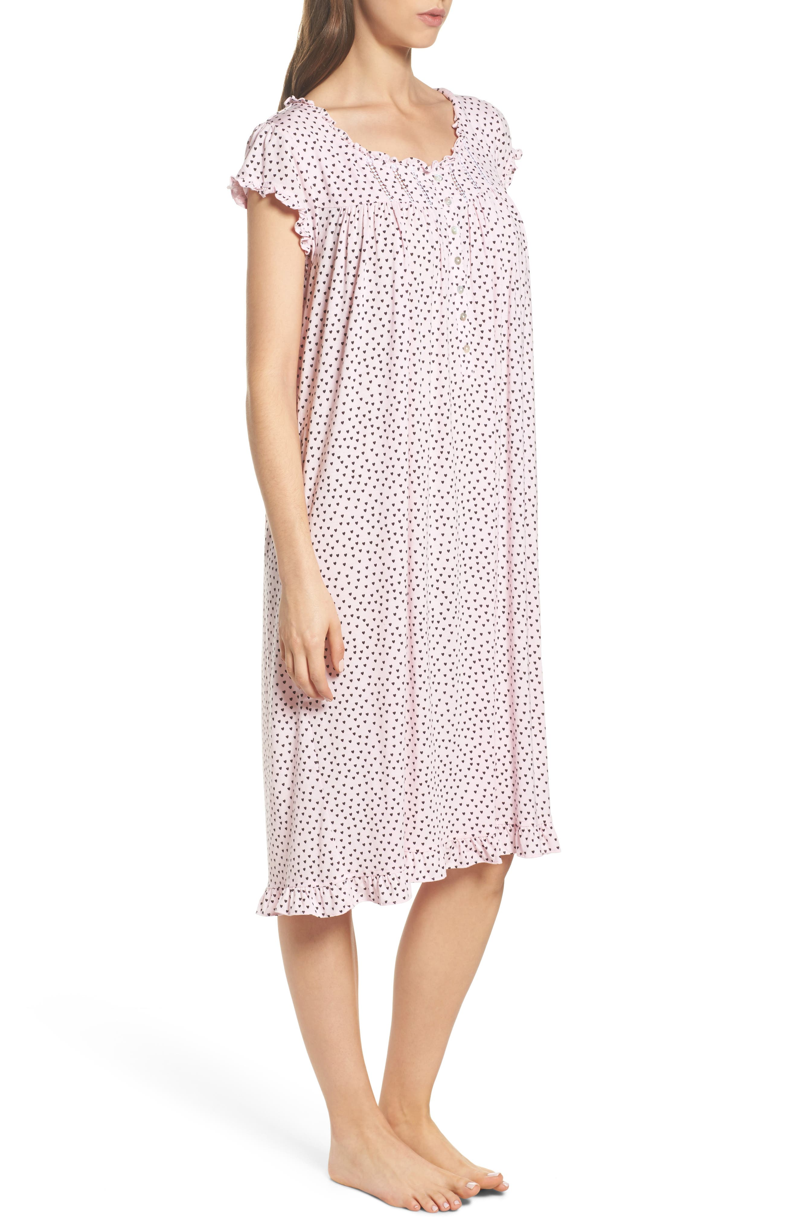 Modal Jersey Nightgown,                             Alternate thumbnail 6, color,