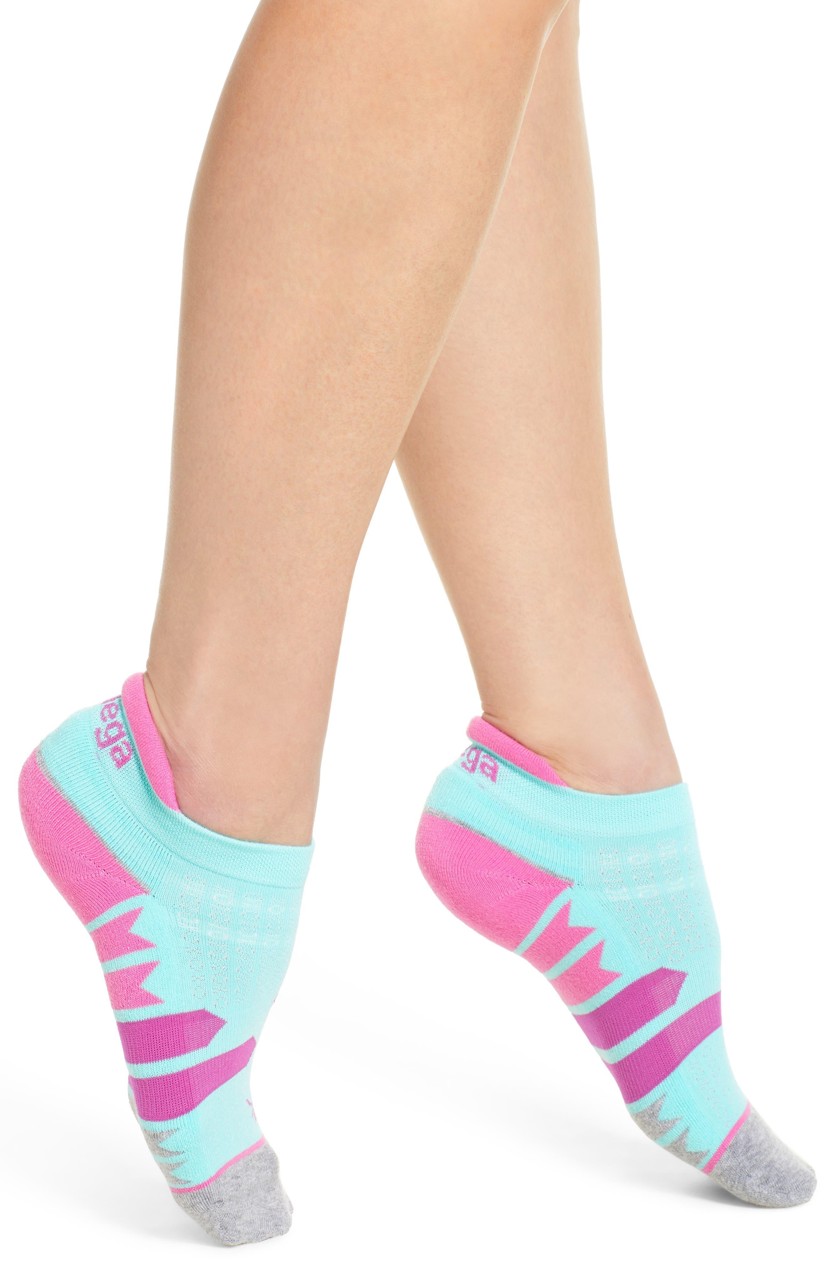 Enduro No-Show Running Socks,                         Main,                         color, 400