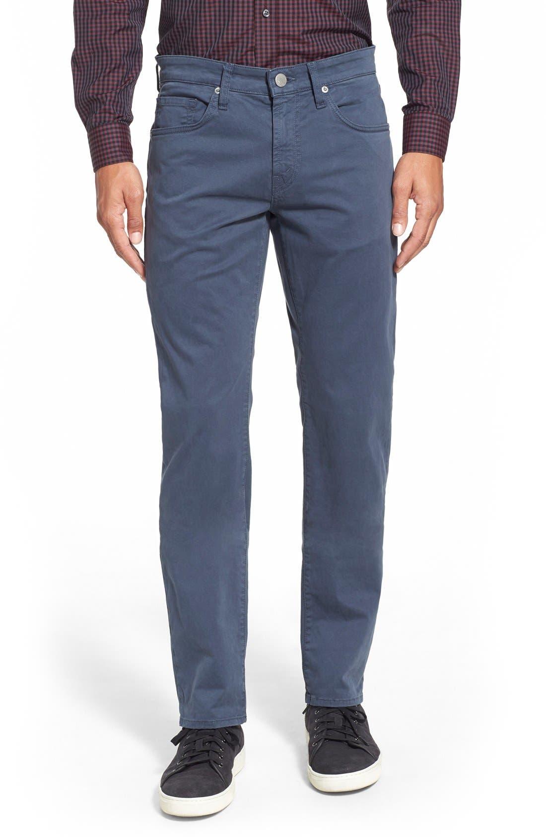 'Kane' Slim Fit Cotton Twill Pants,                             Main thumbnail 18, color,