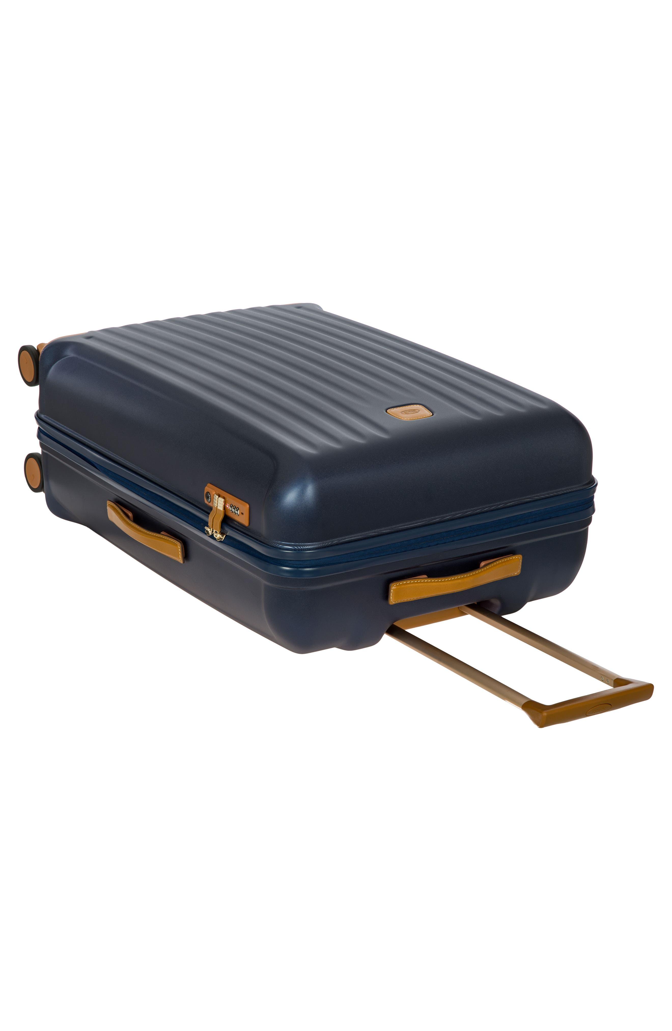 Capri 30-Inch Rolling Suitcase,                             Alternate thumbnail 5, color,                             MATTE BLUE