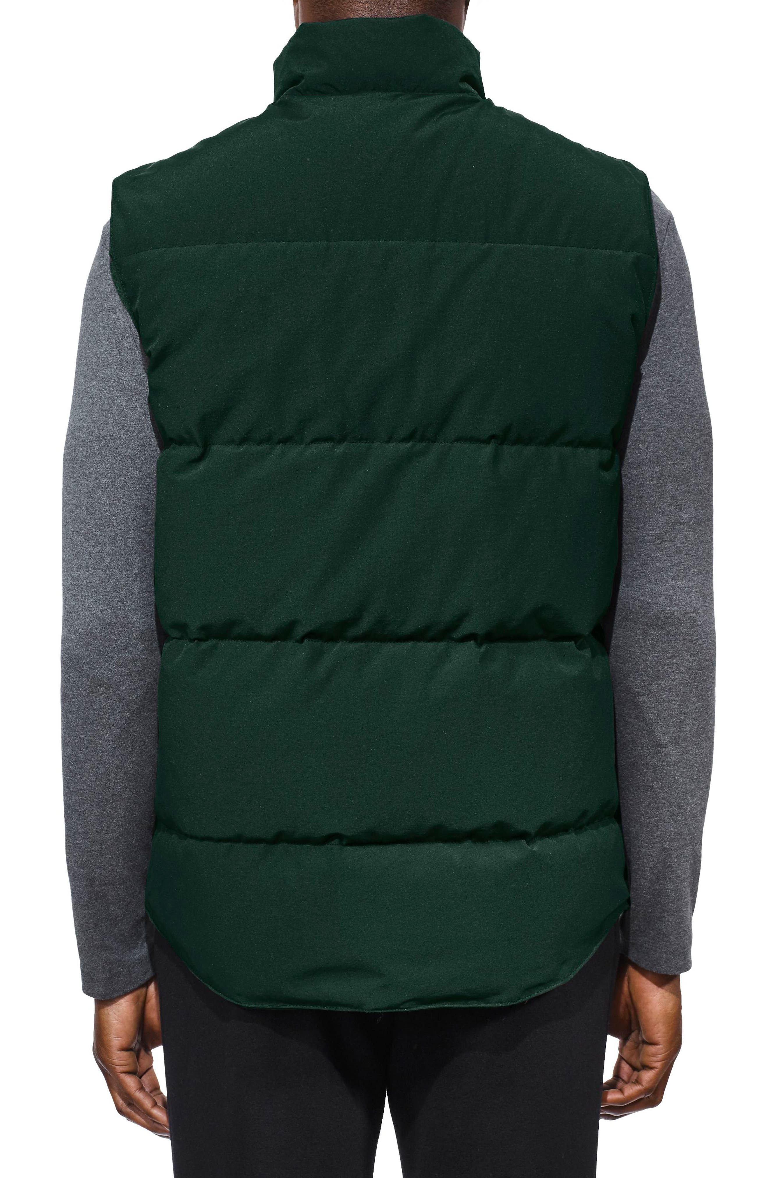Freestyle Regular Fit Down Vest,                             Alternate thumbnail 2, color,                             SPRUCE