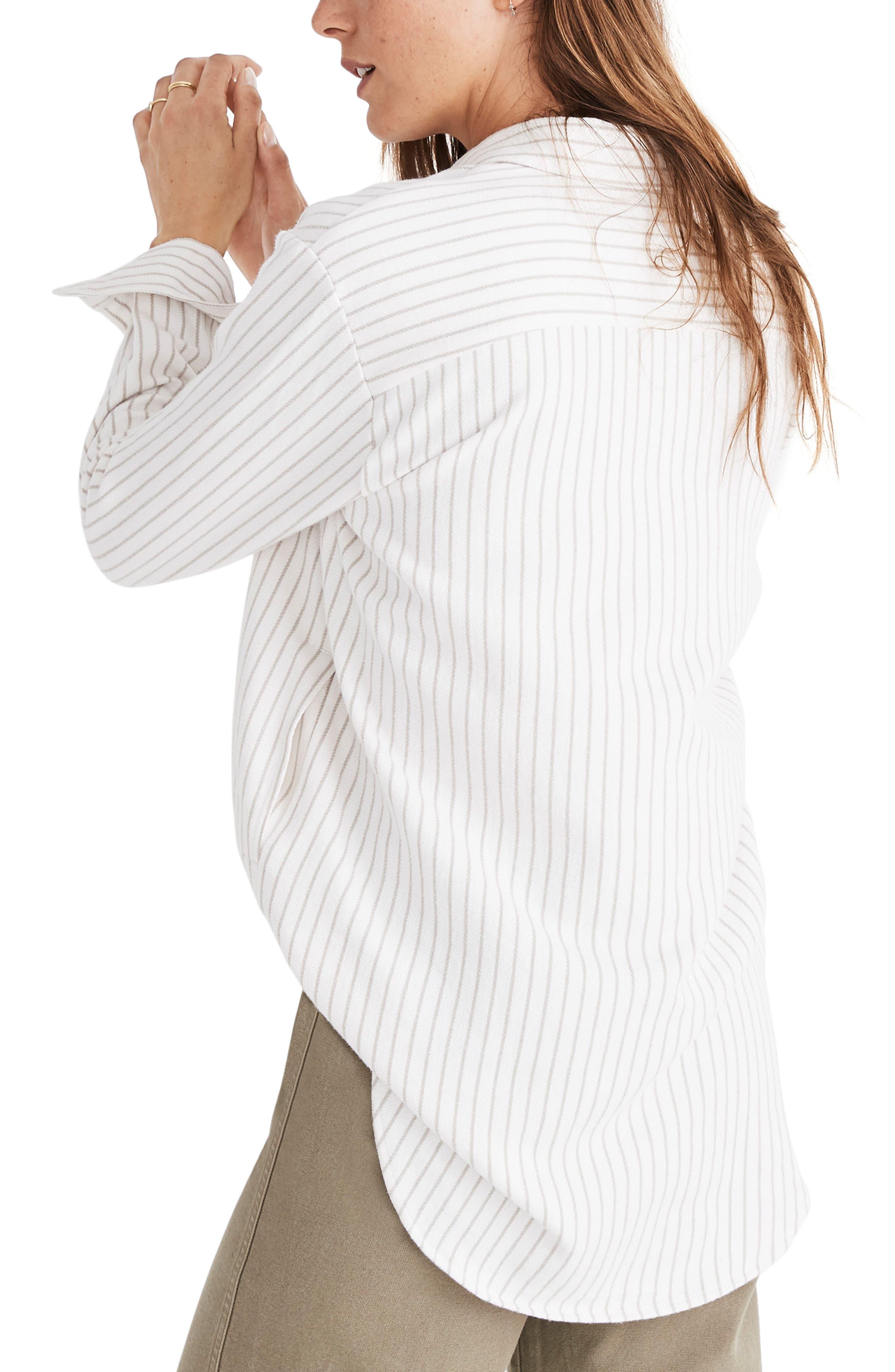 Sunday Stripe Flannel Shirt,                             Alternate thumbnail 2, color,                             900