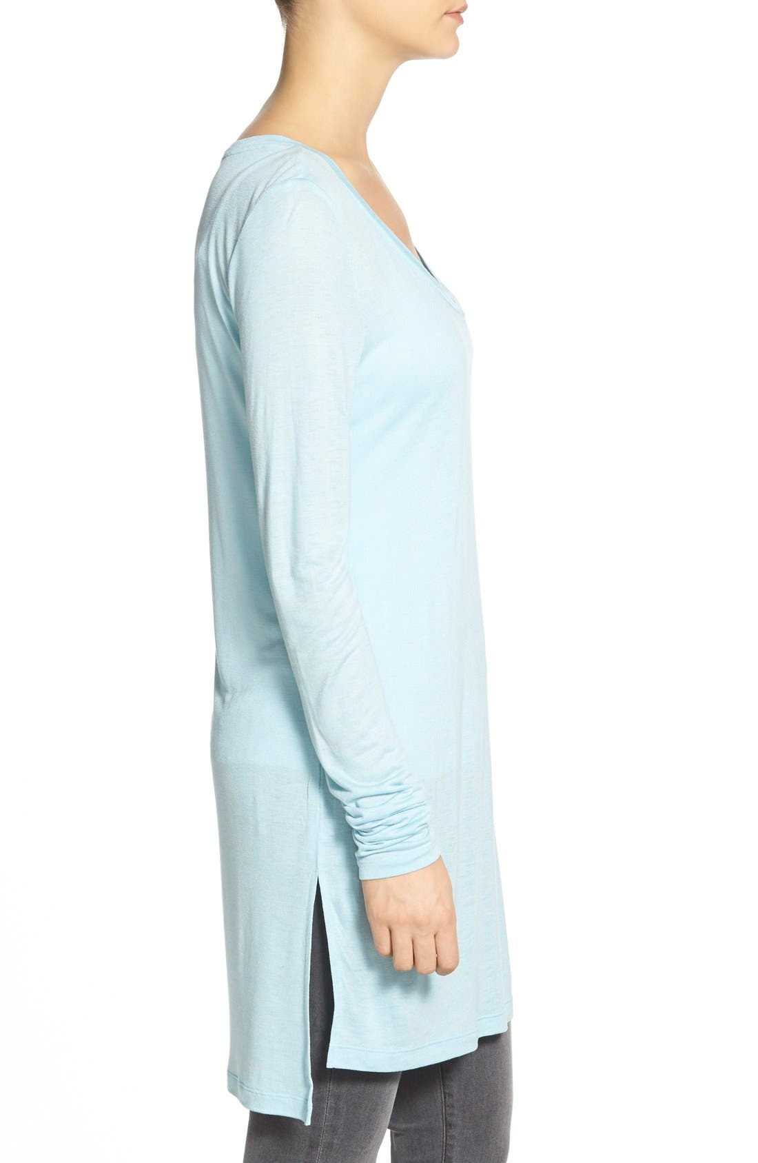 Long Sleeve Lightweight Tunic,                             Alternate thumbnail 17, color,