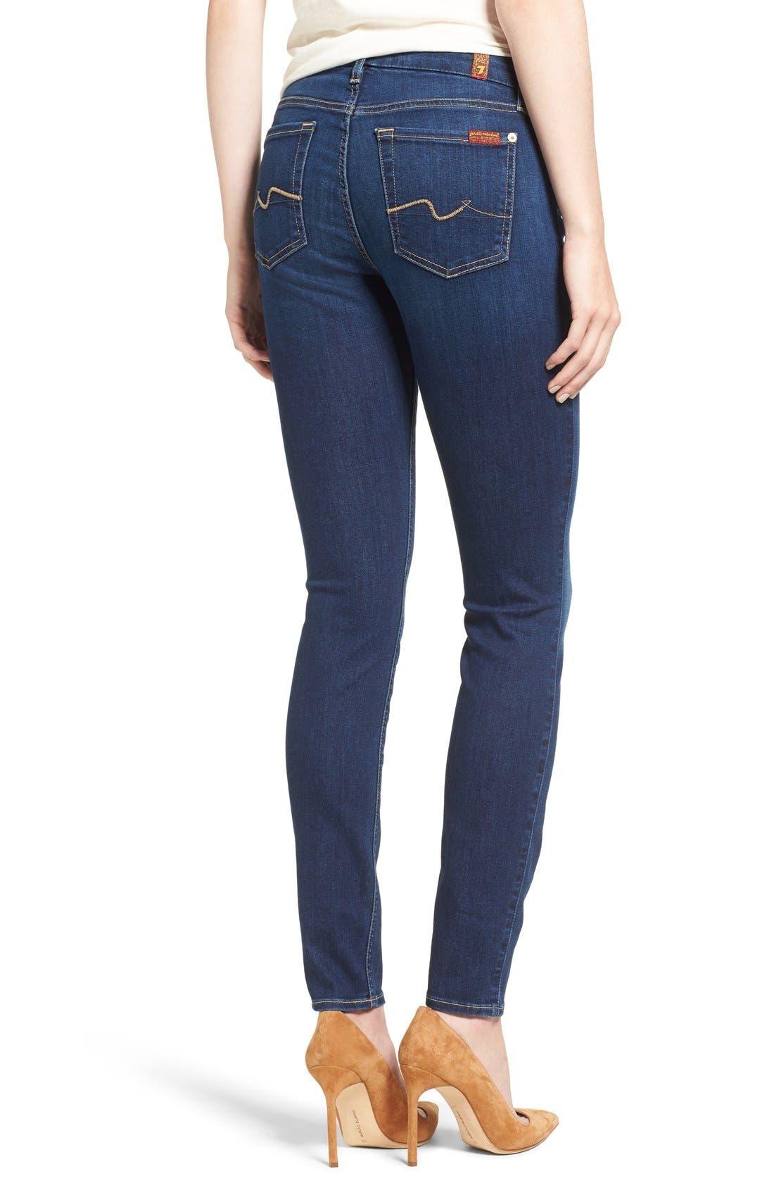 b(air) Skinny Jeans,                             Alternate thumbnail 4, color,                             400
