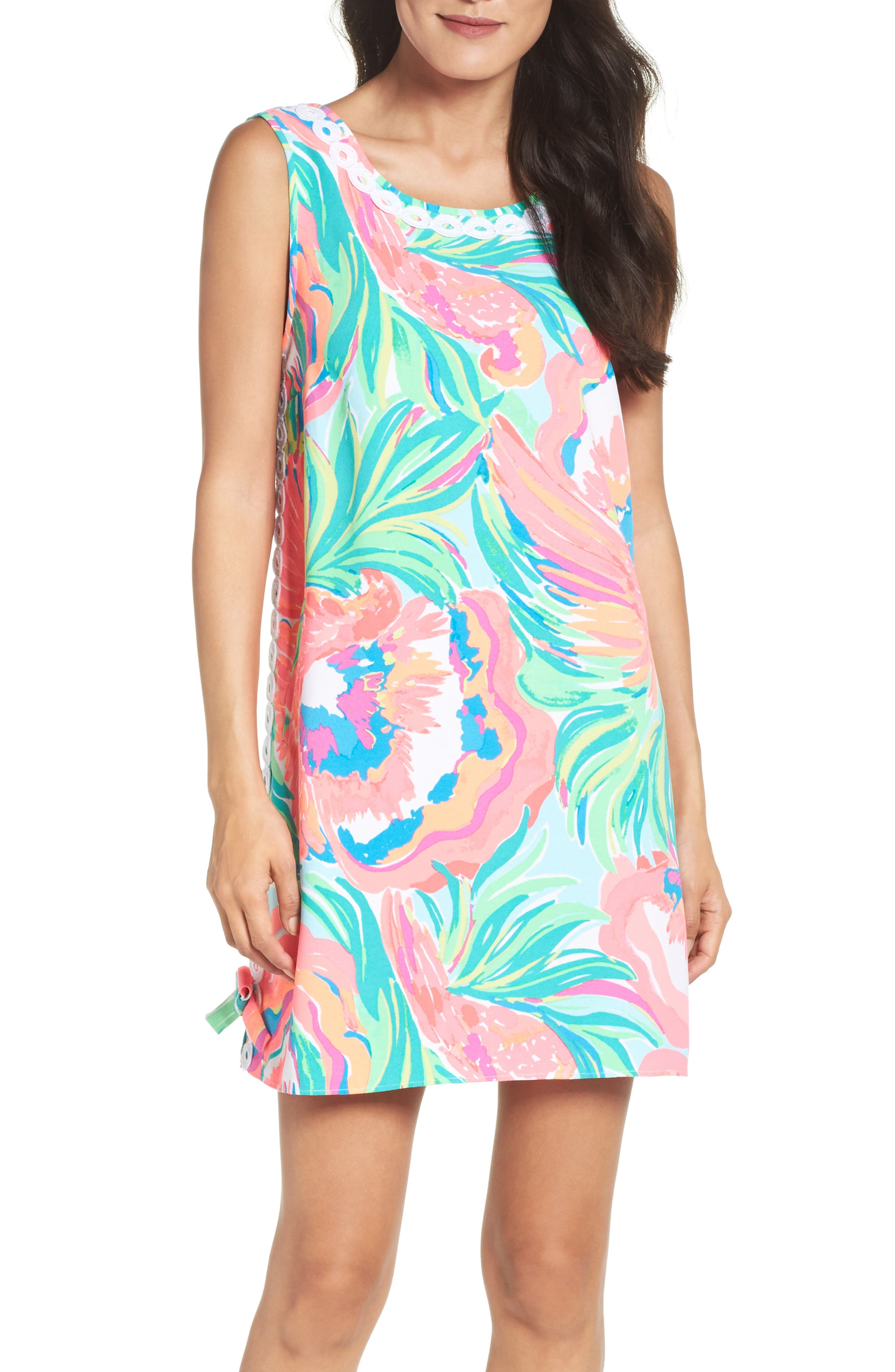 Stella Shift Dress, Main, color, 460