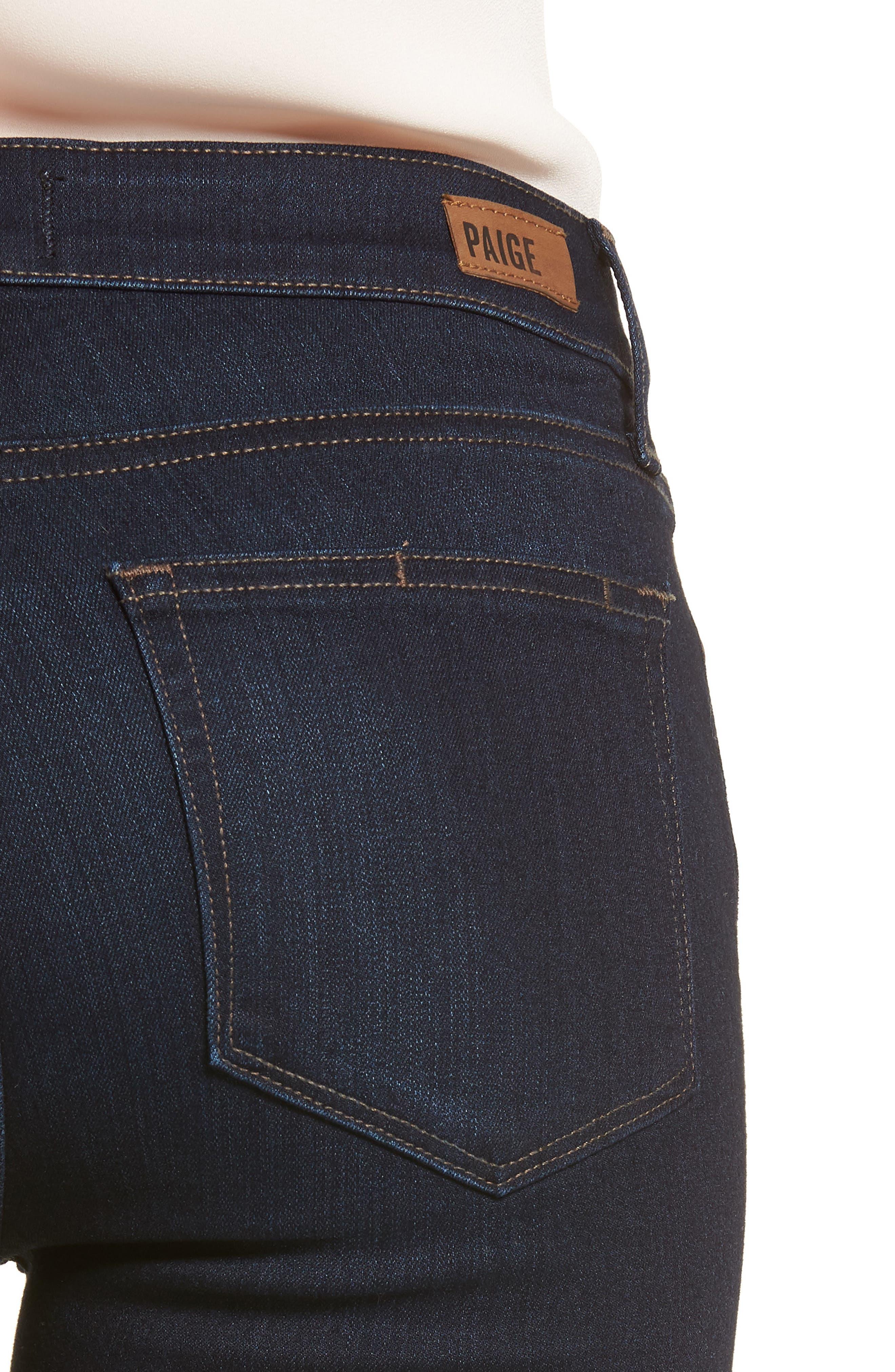 Transcend - Verdugo Ankle Skinny Jeans,                             Alternate thumbnail 4, color,                             RENNA