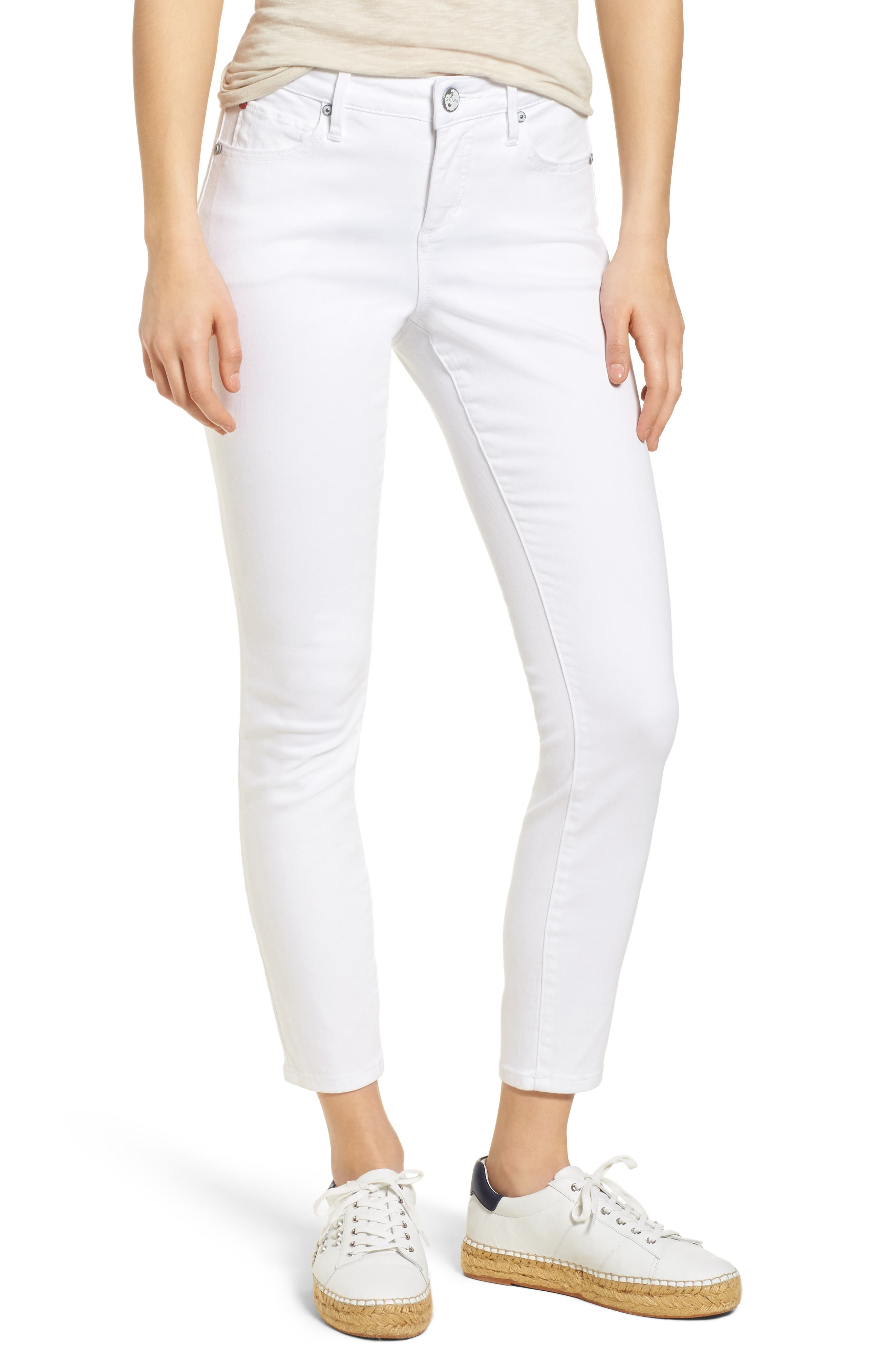 SLINK Ankle Skinny Jeans,                             Main thumbnail 1, color,                             114