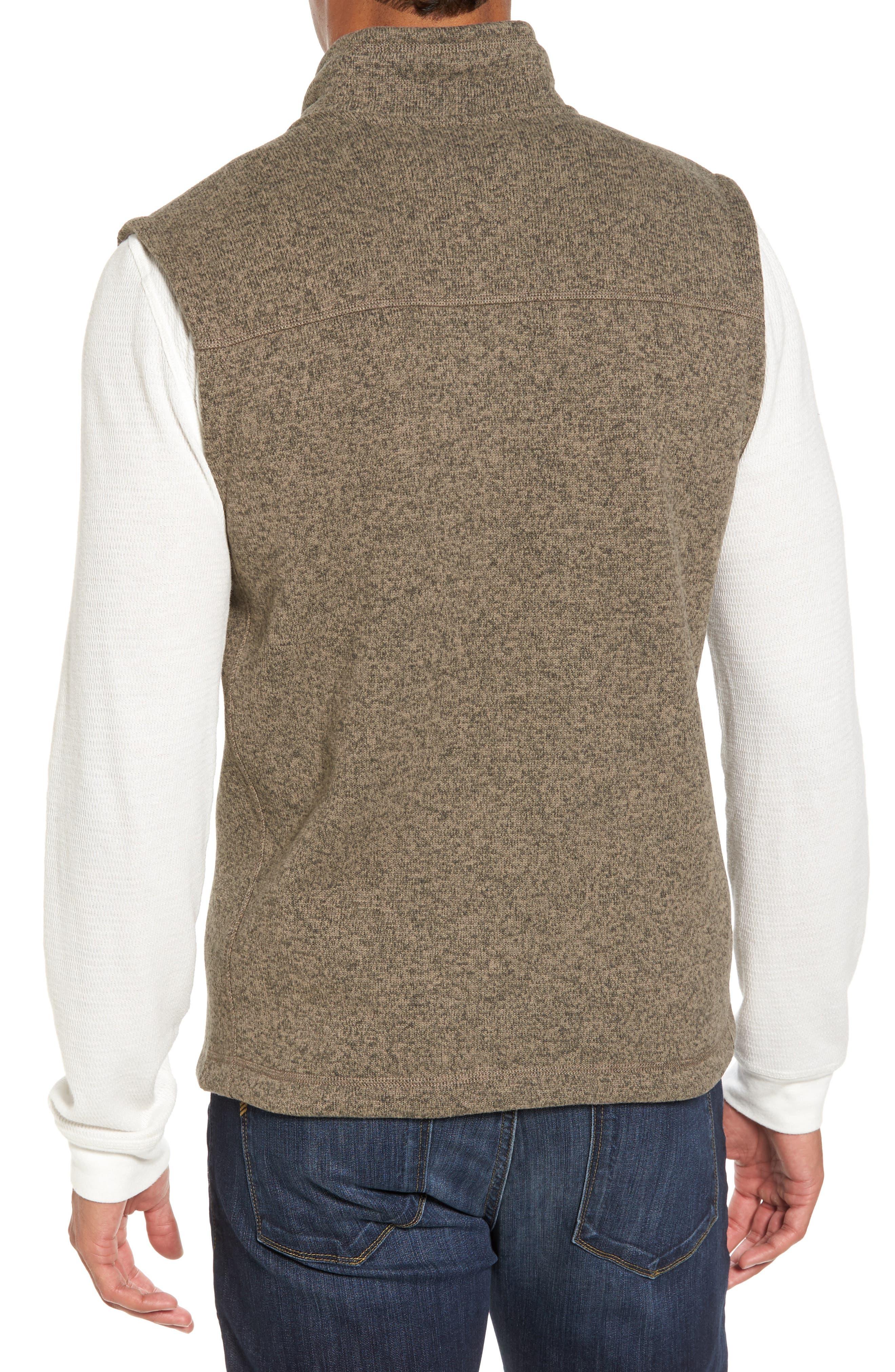 Gordon Lyons Zip Fleece Vest,                             Alternate thumbnail 8, color,