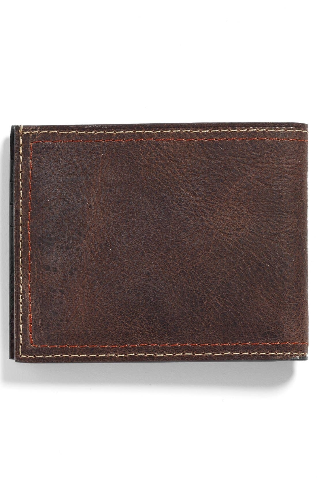 Water Buffalo Leather Wallet,                             Alternate thumbnail 3, color,                             203