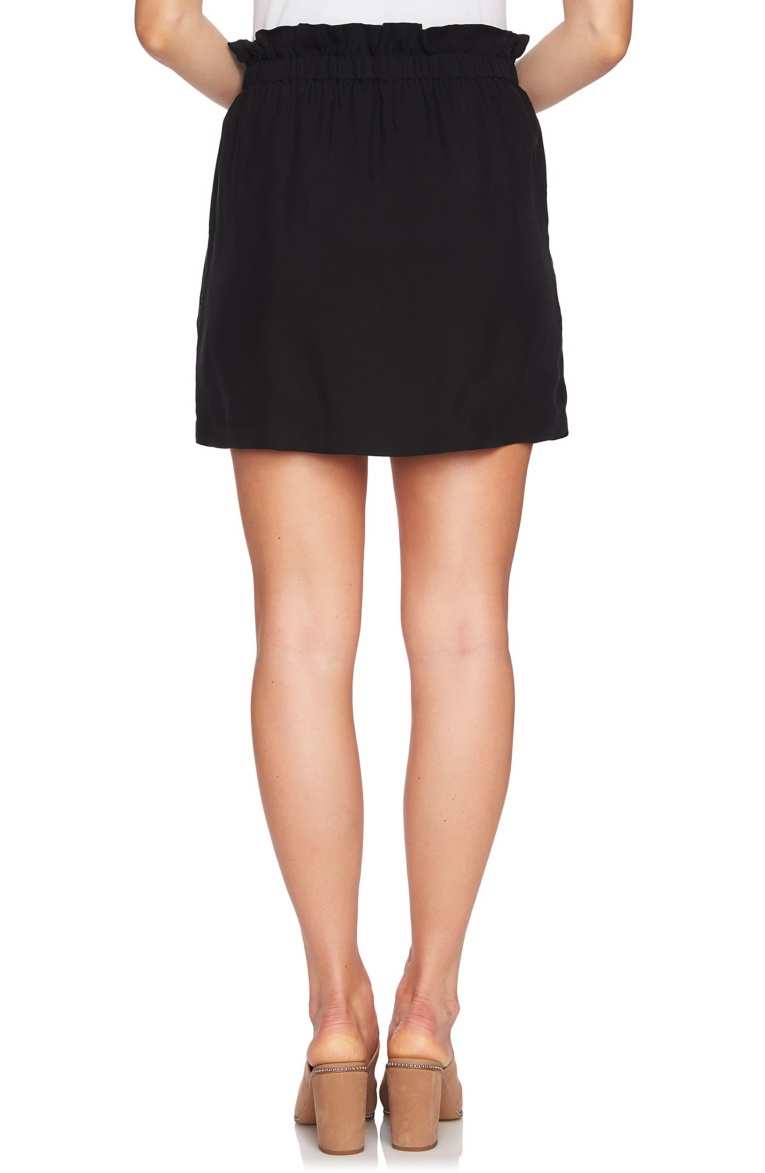 Paperbag Miniskirt,                             Alternate thumbnail 2, color,                             006