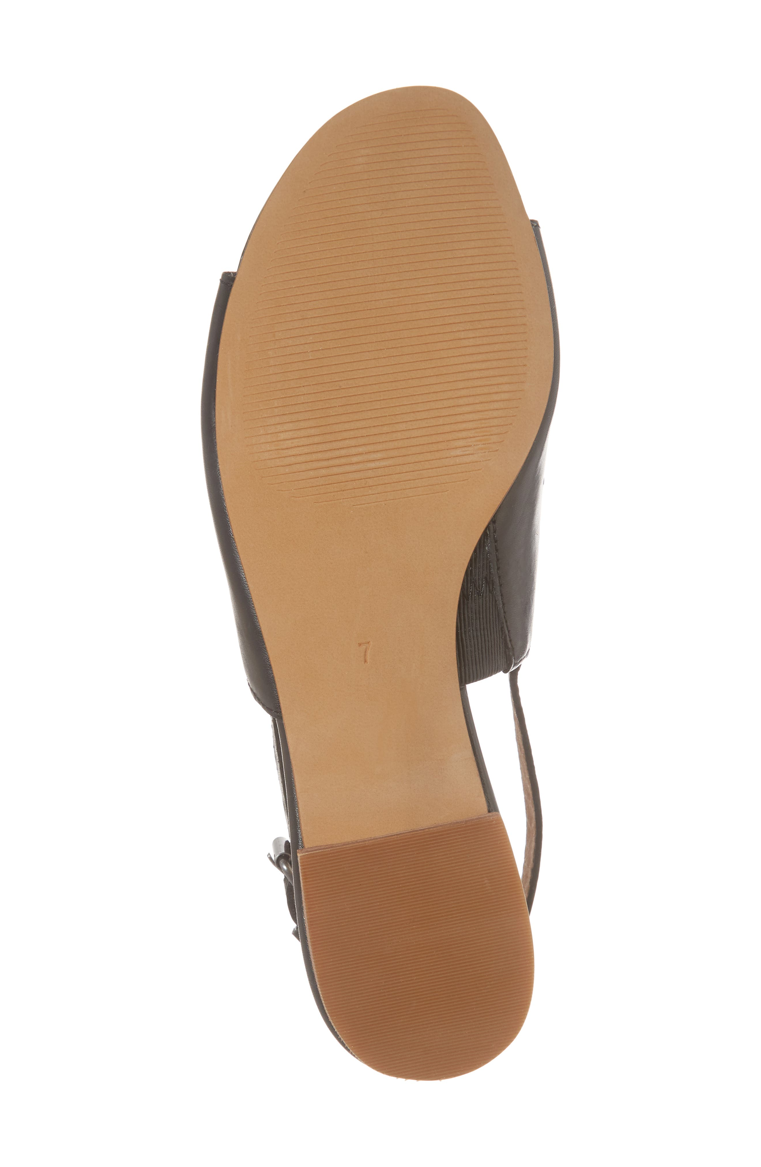 Noelle Slingback Sandal,                             Alternate thumbnail 6, color,                             001
