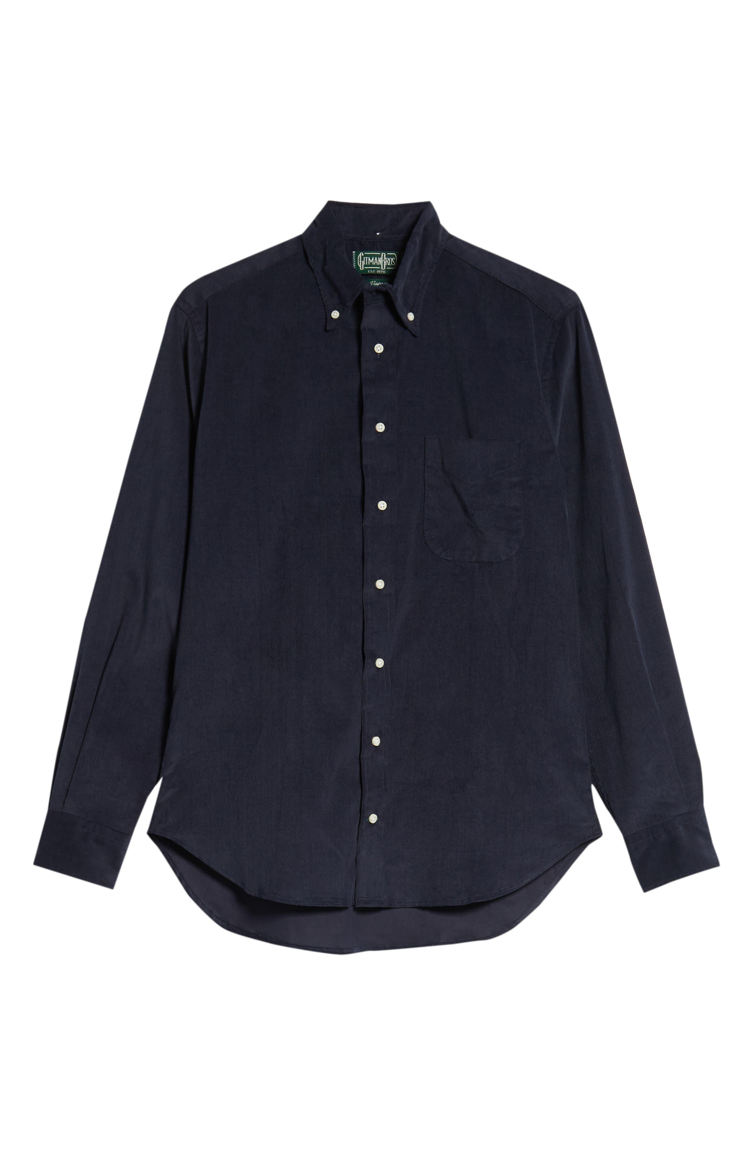 Corduroy Shirt,                             Alternate thumbnail 5, color,                             400
