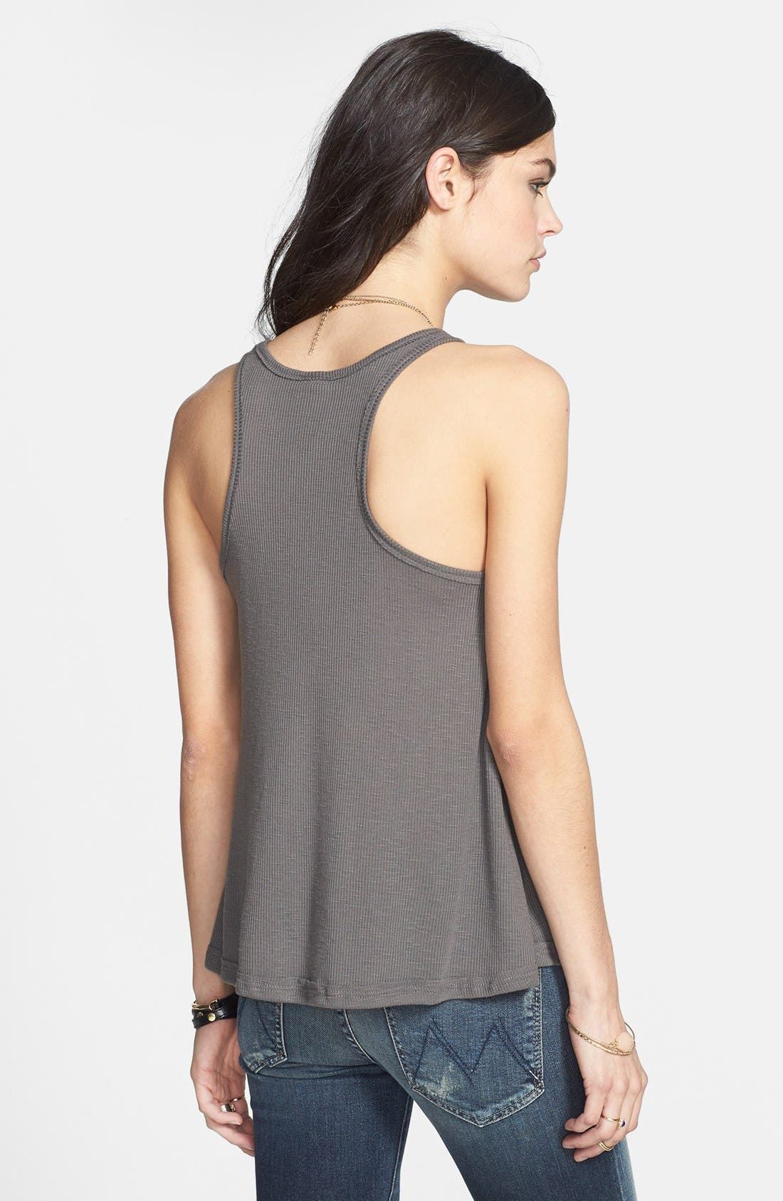 'Long Beach' Tank,                             Alternate thumbnail 8, color,                             GREY
